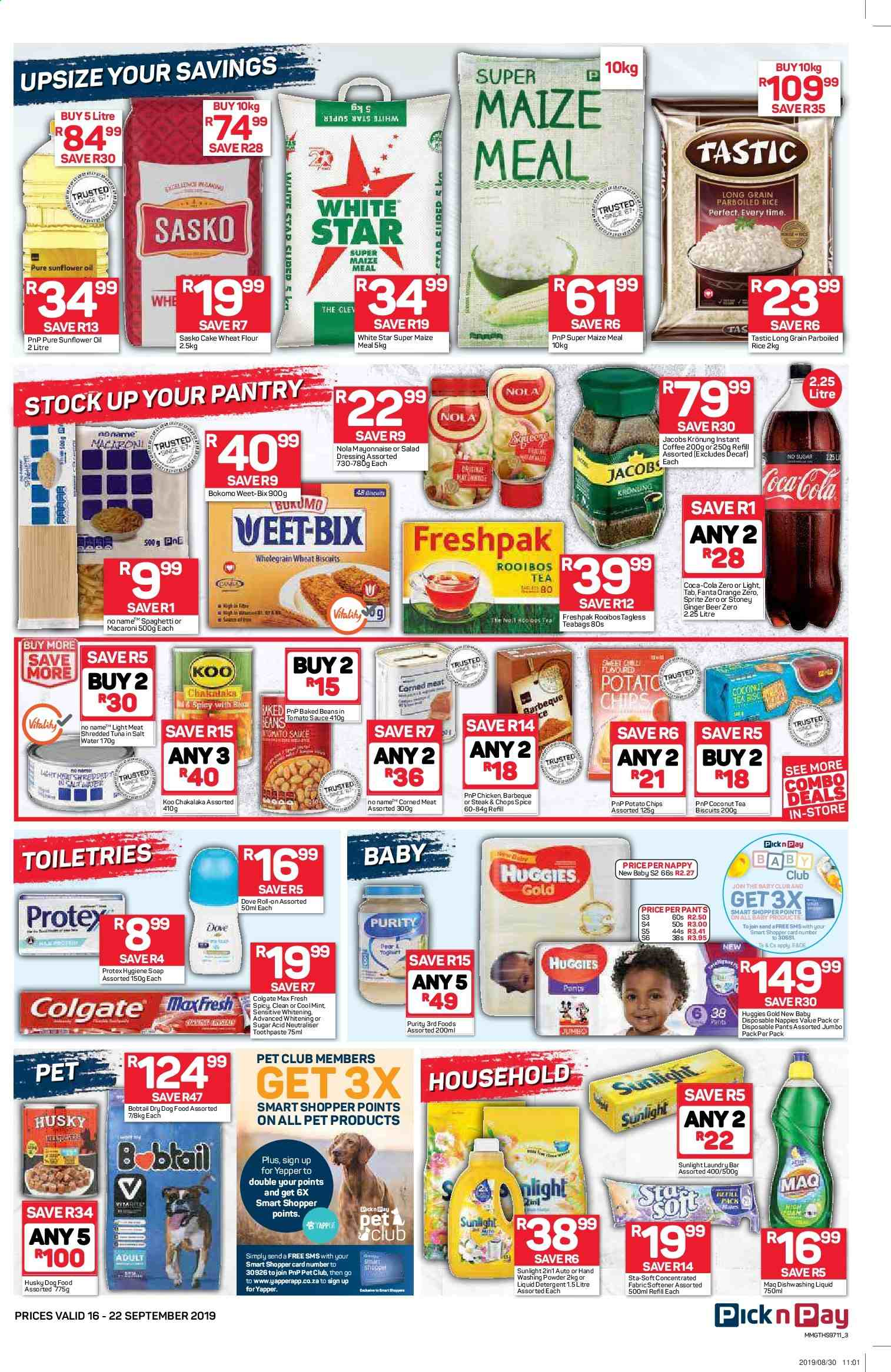 Pick n Pay catalogue  - 09.16.2019 - 09.22.2019. Page 3.