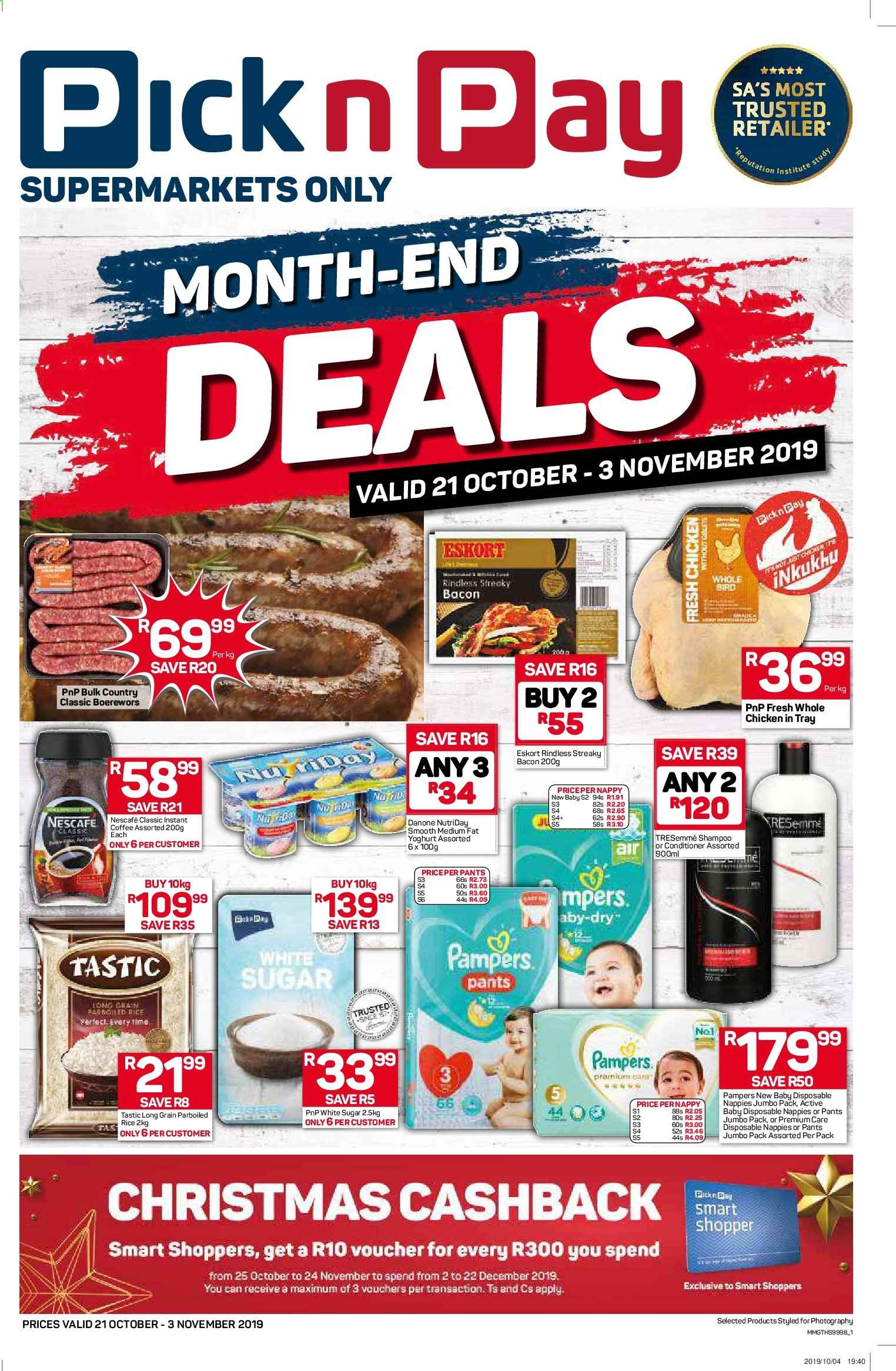 Pick n Pay catalogue  - 10.21.2019 - 11.03.2019. Page 1.