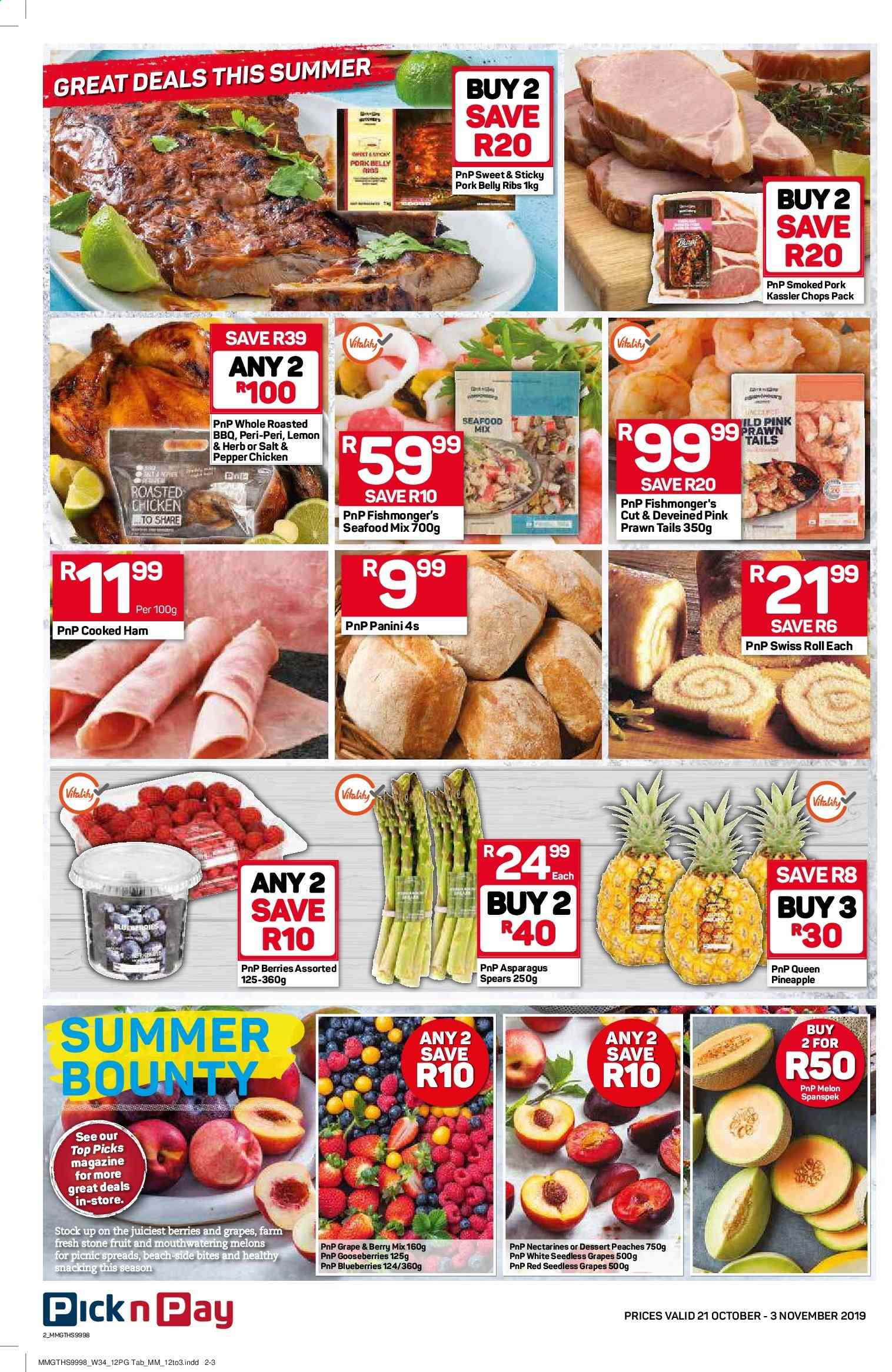 Pick n Pay catalogue  - 10.21.2019 - 11.03.2019. Page 2.
