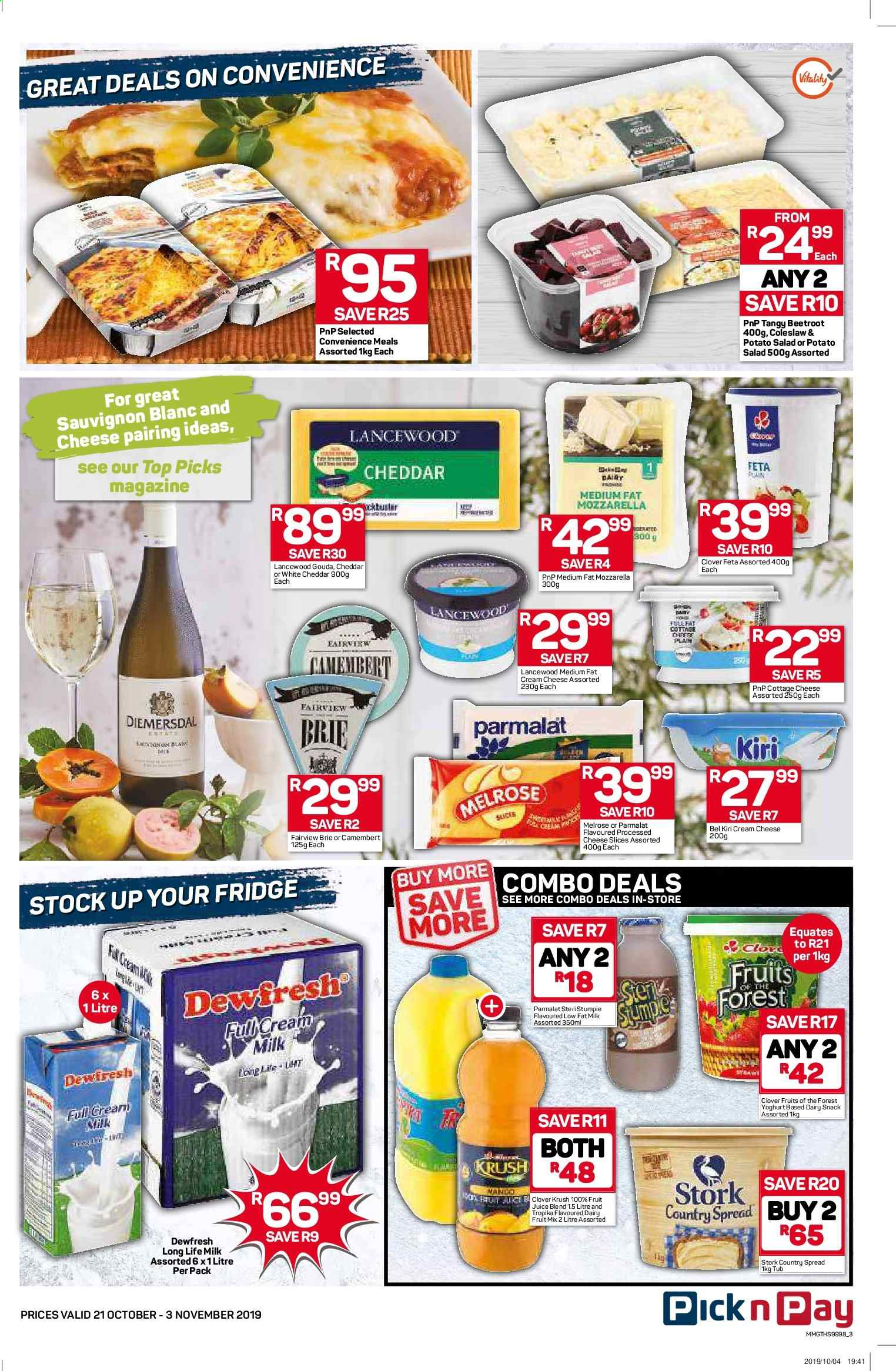 Pick n Pay catalogue  - 10.21.2019 - 11.03.2019. Page 3.