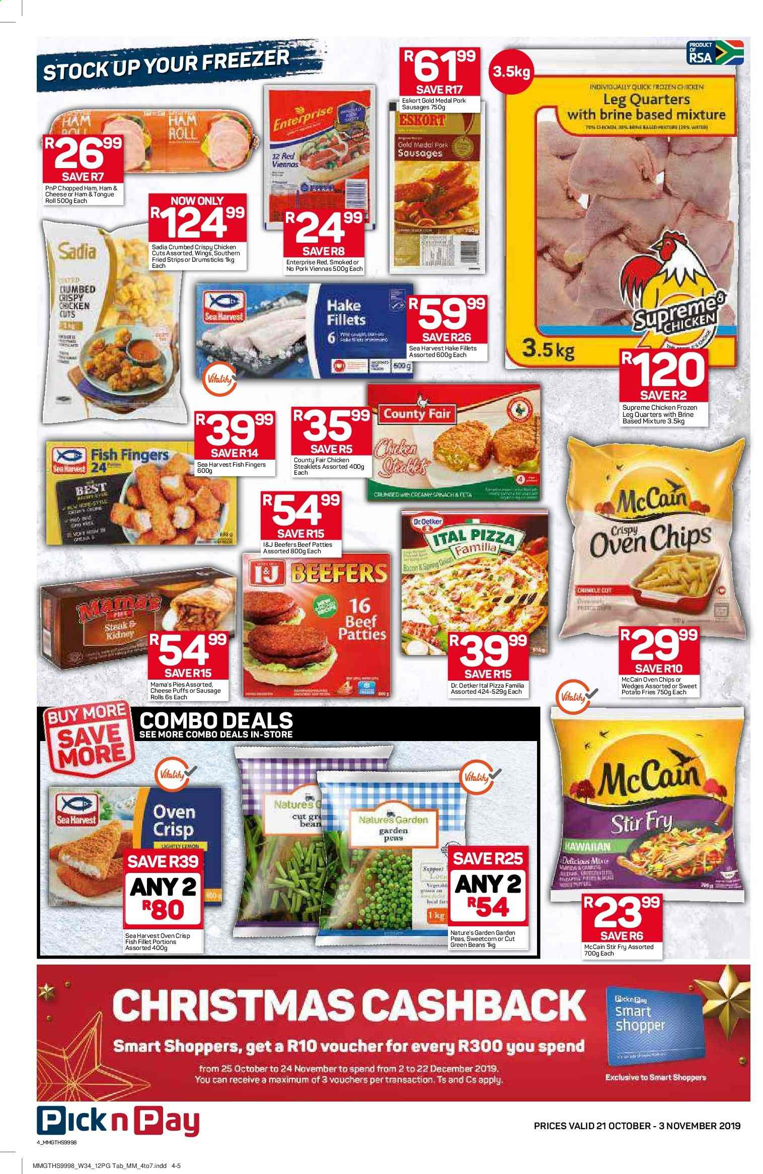 Pick n Pay catalogue  - 10.21.2019 - 11.03.2019. Page 4.