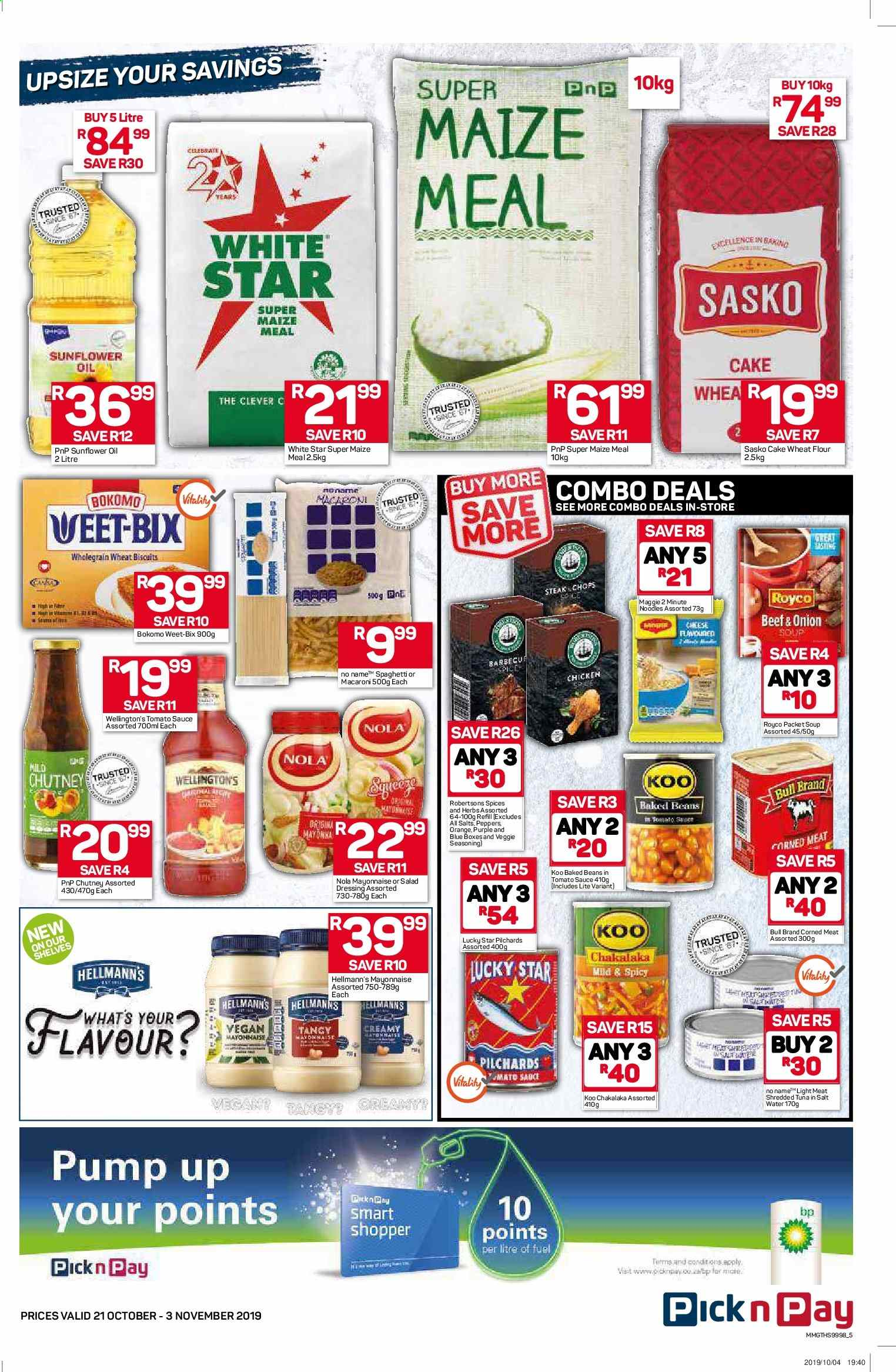Pick n Pay catalogue  - 10.21.2019 - 11.03.2019. Page 5.