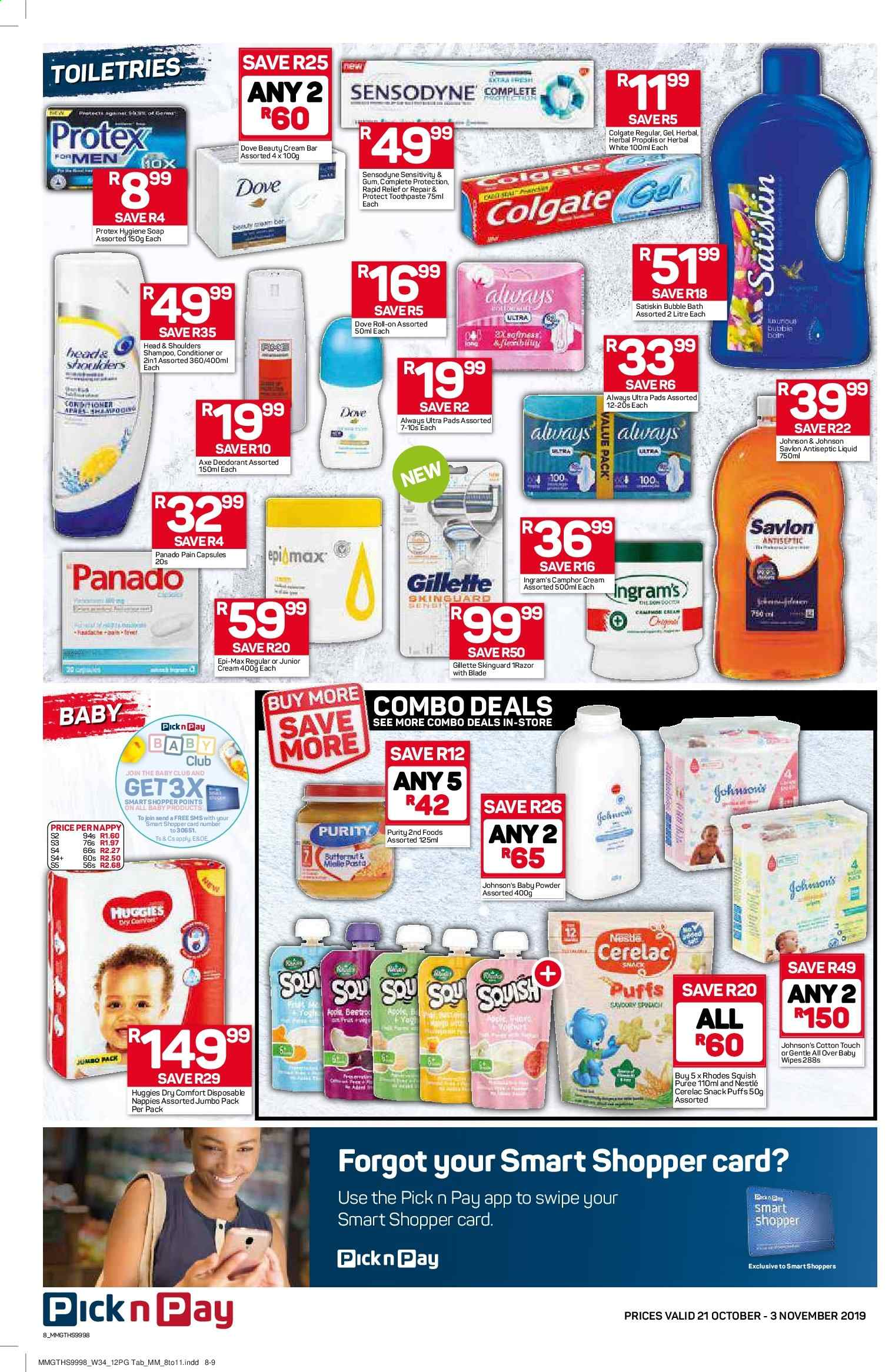Pick n Pay catalogue  - 10.21.2019 - 11.03.2019. Page 8.