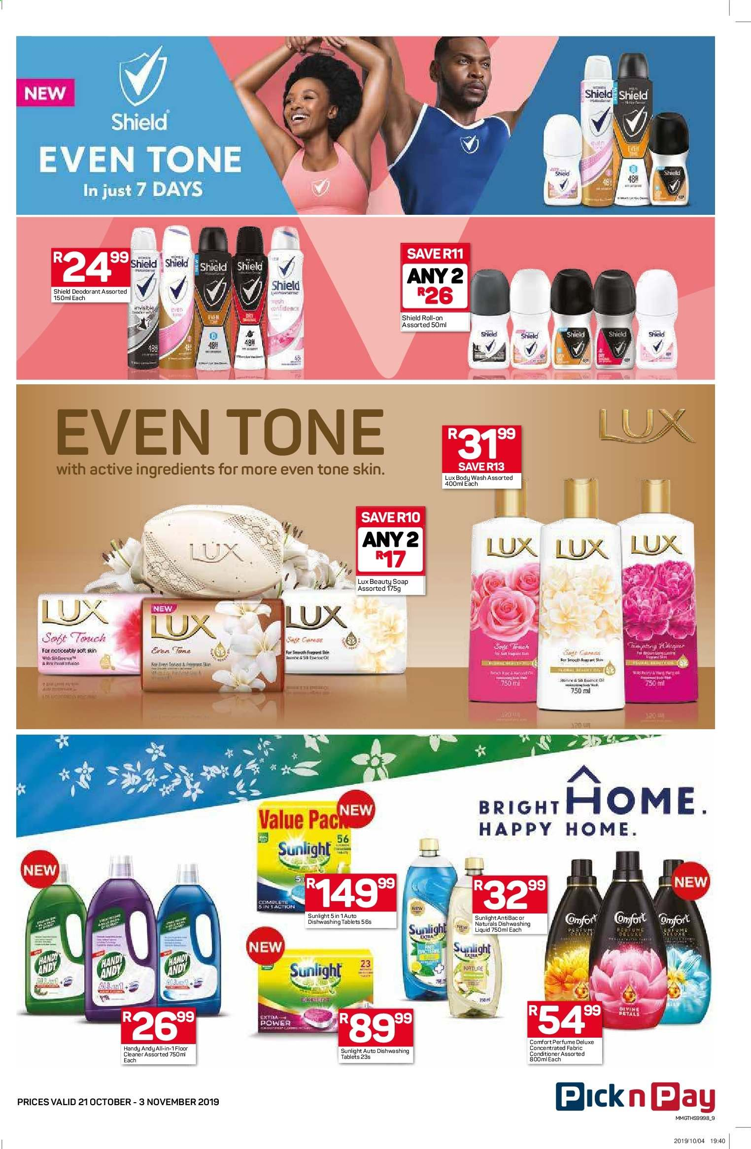 Pick n Pay catalogue  - 10.21.2019 - 11.03.2019. Page 9.