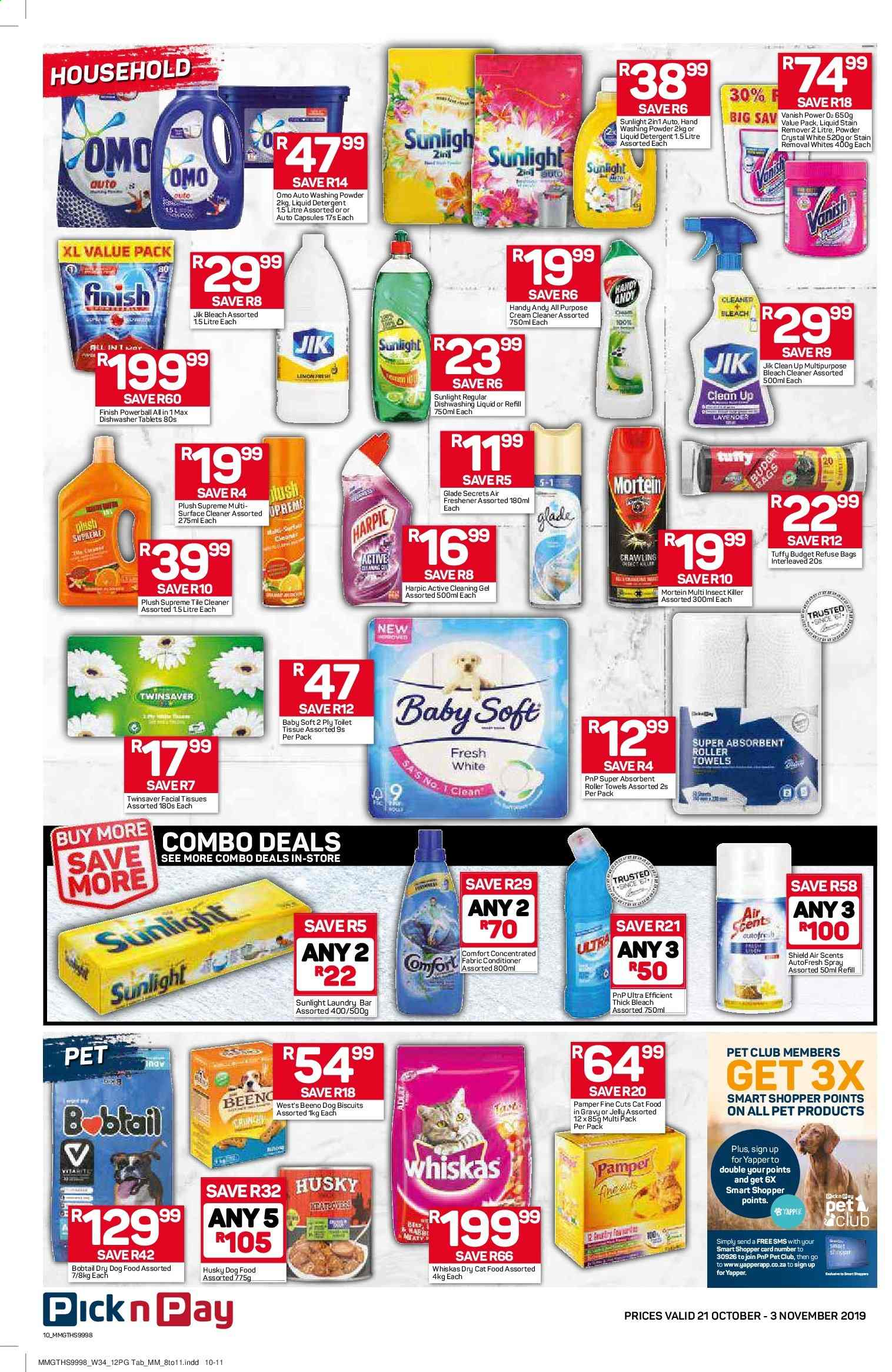 Pick n Pay catalogue  - 10.21.2019 - 11.03.2019. Page 10.