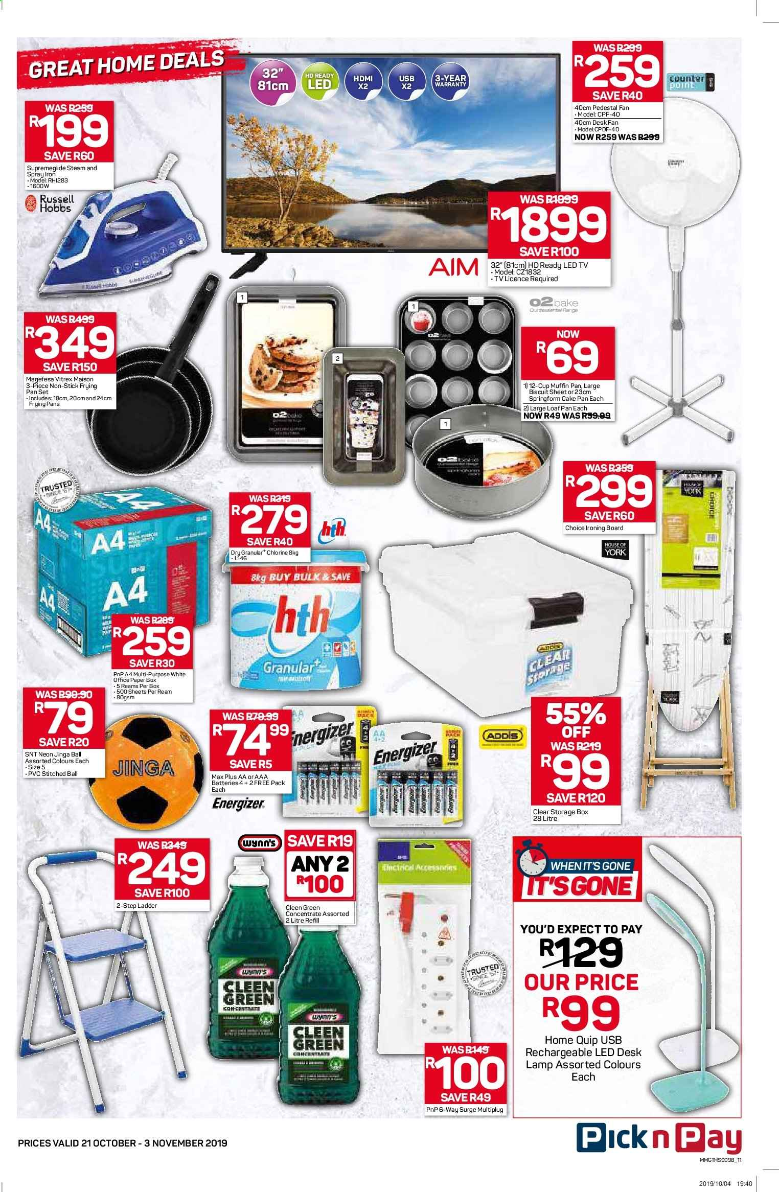Pick n Pay catalogue  - 10.21.2019 - 11.03.2019. Page 11.