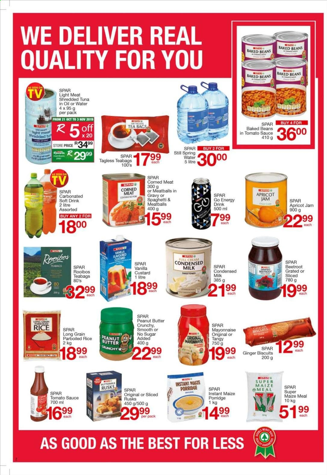 SPAR catalogue  - 10.21.2019 - 11.03.2019. Page 2.