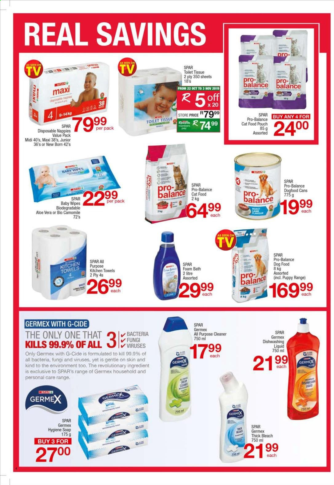 SPAR catalogue  - 10.21.2019 - 11.03.2019. Page 4.