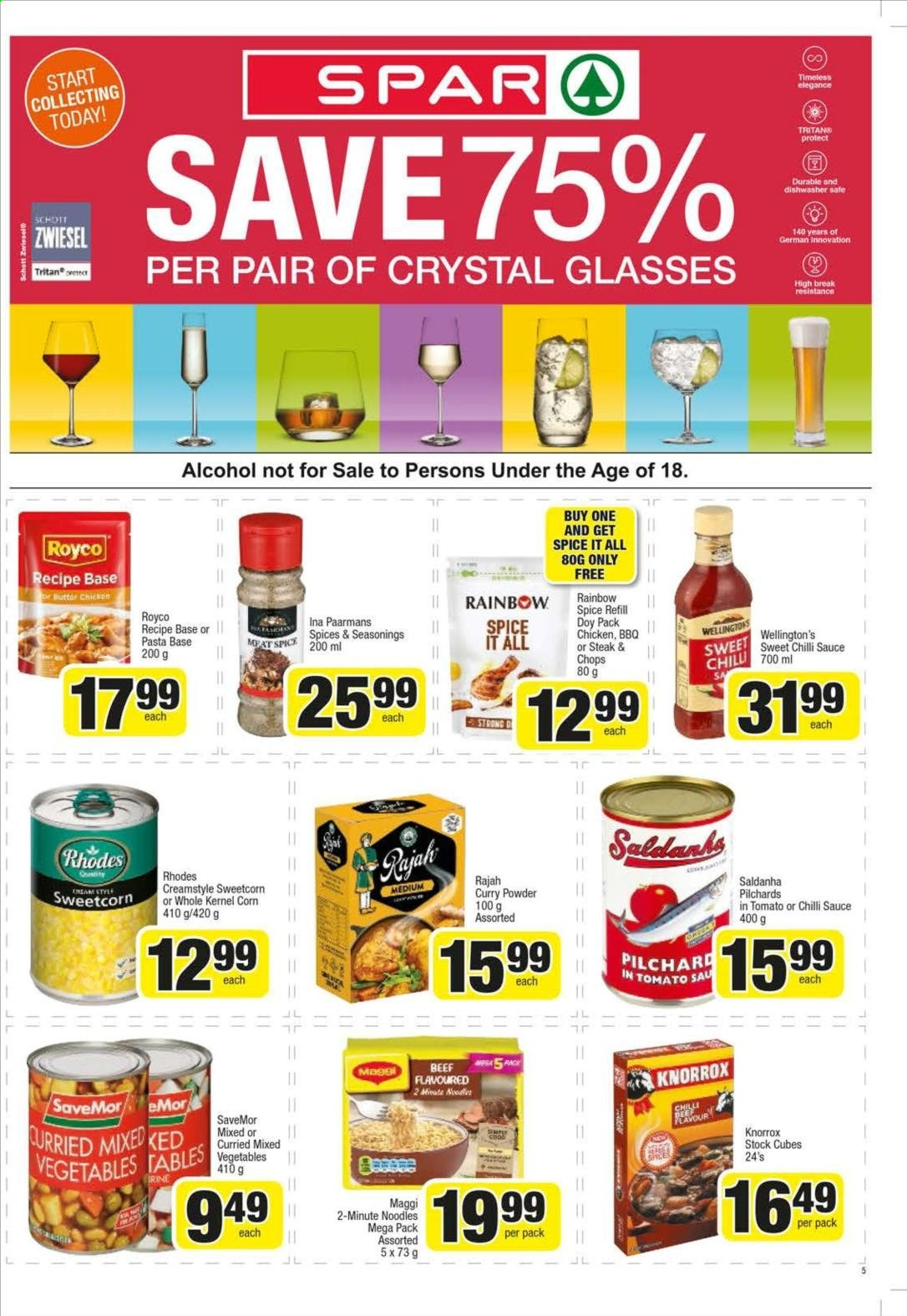 SPAR catalogue  - 10.21.2019 - 11.03.2019. Page 5.