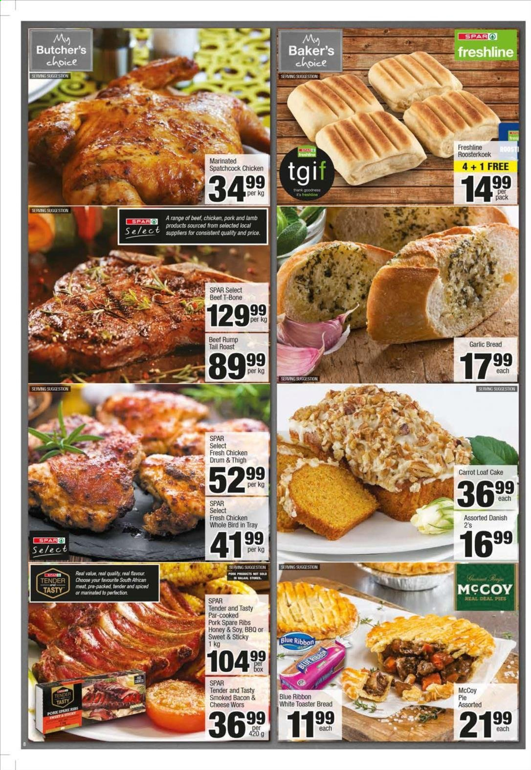 SPAR catalogue  - 10.21.2019 - 11.03.2019. Page 8.