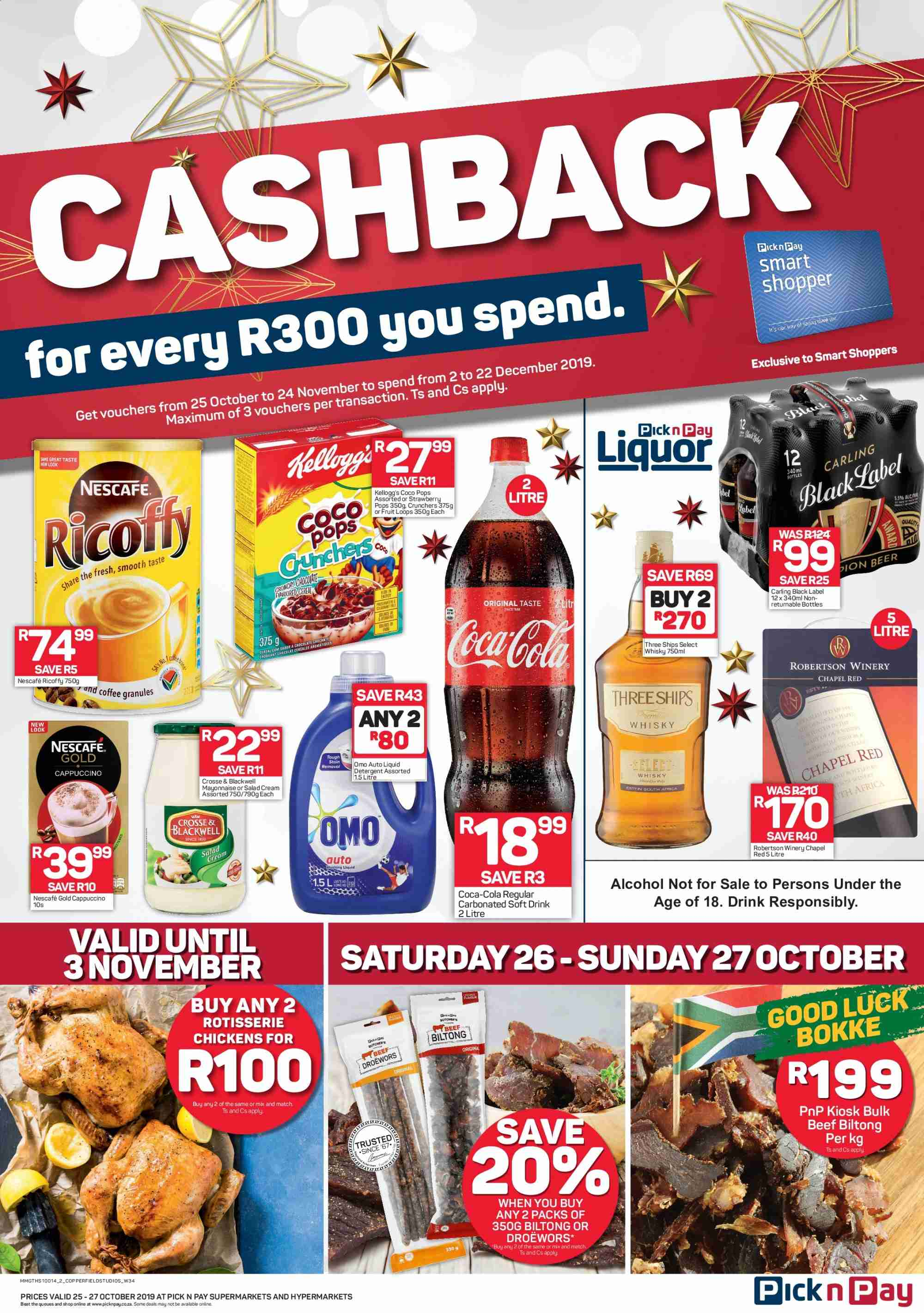 Pick n Pay catalogue  - 10.25.2019 - 10.27.2019. Page 2.