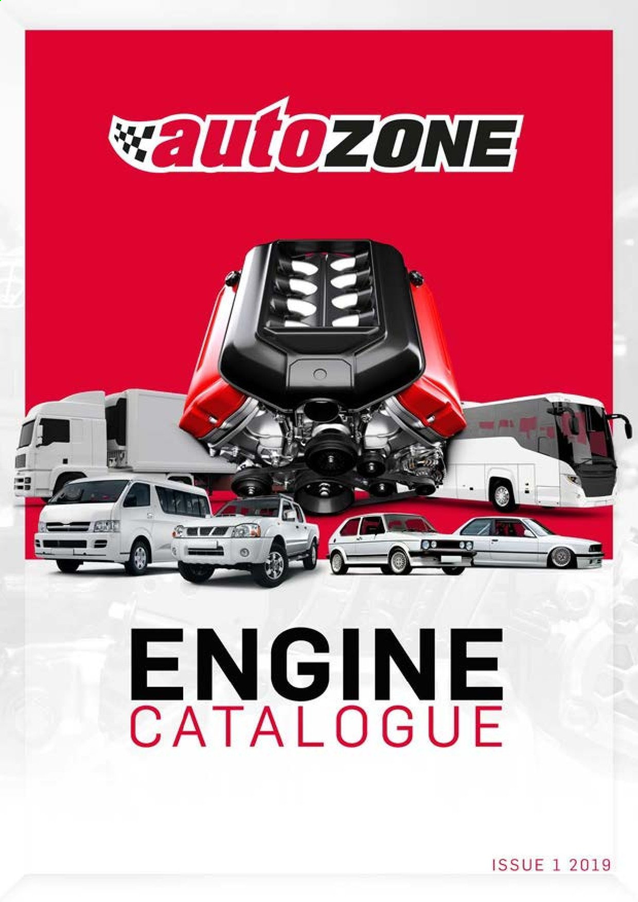 AutoZone catalogue . Page 1.