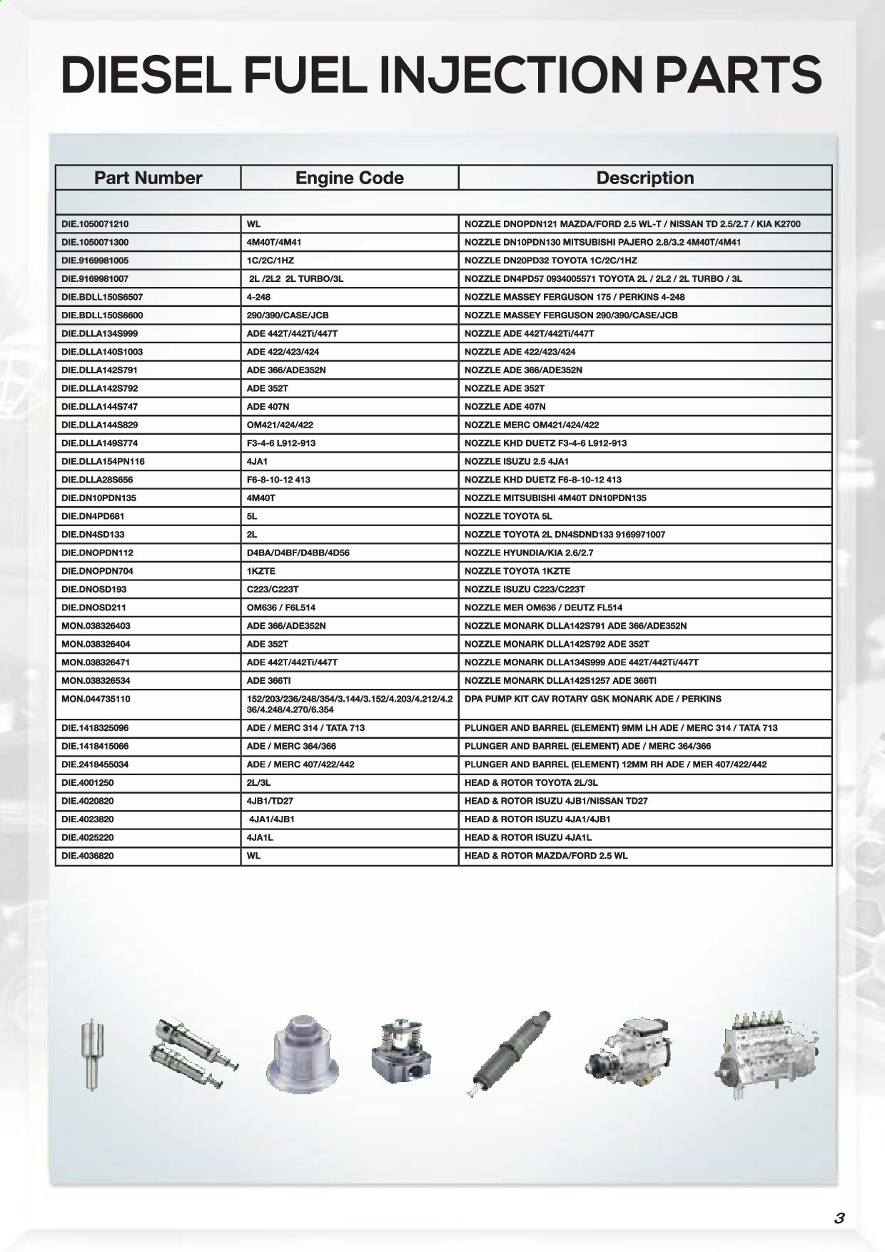 AutoZone catalogue . Page 5.