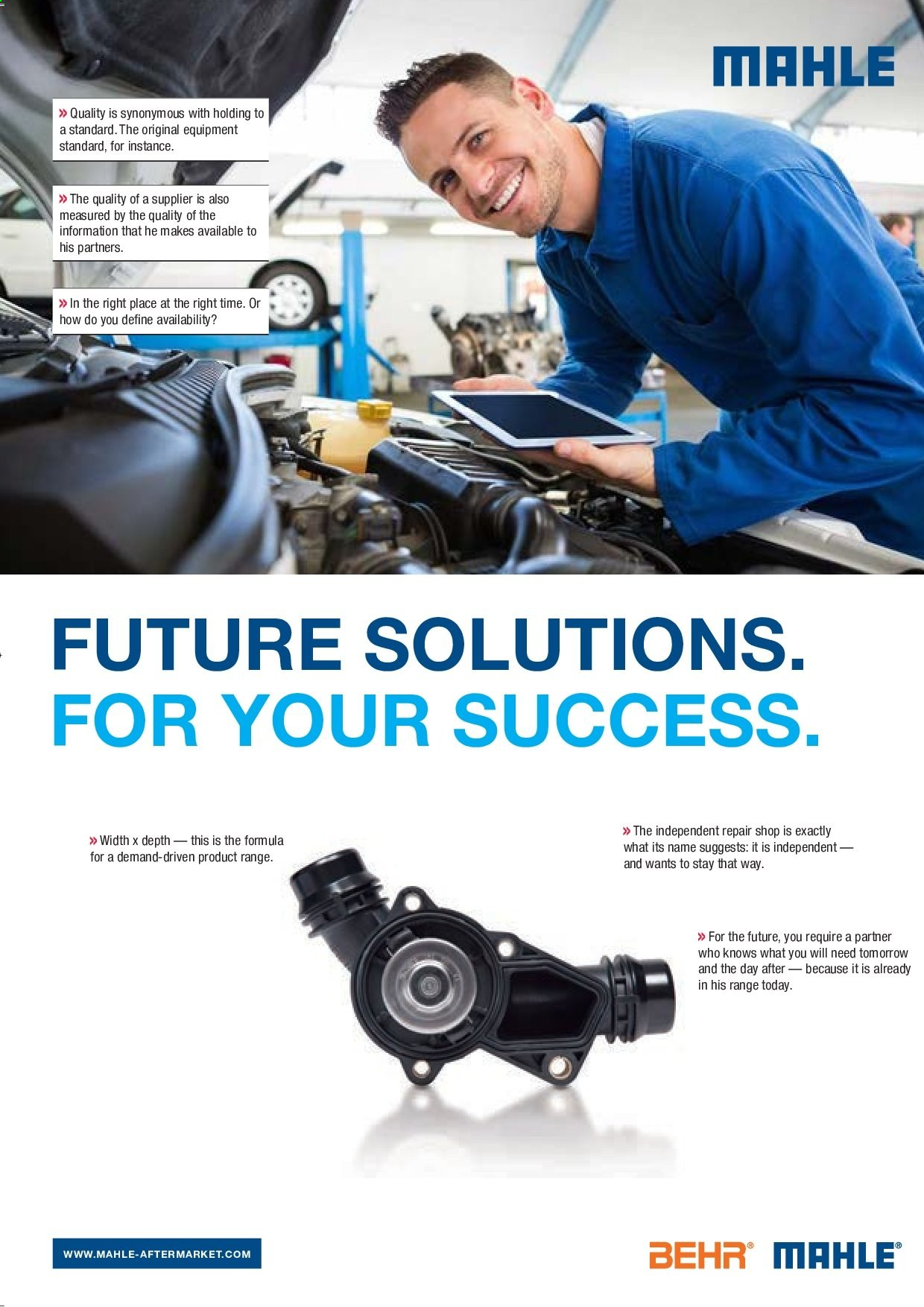 AutoZone catalogue . Page 38.