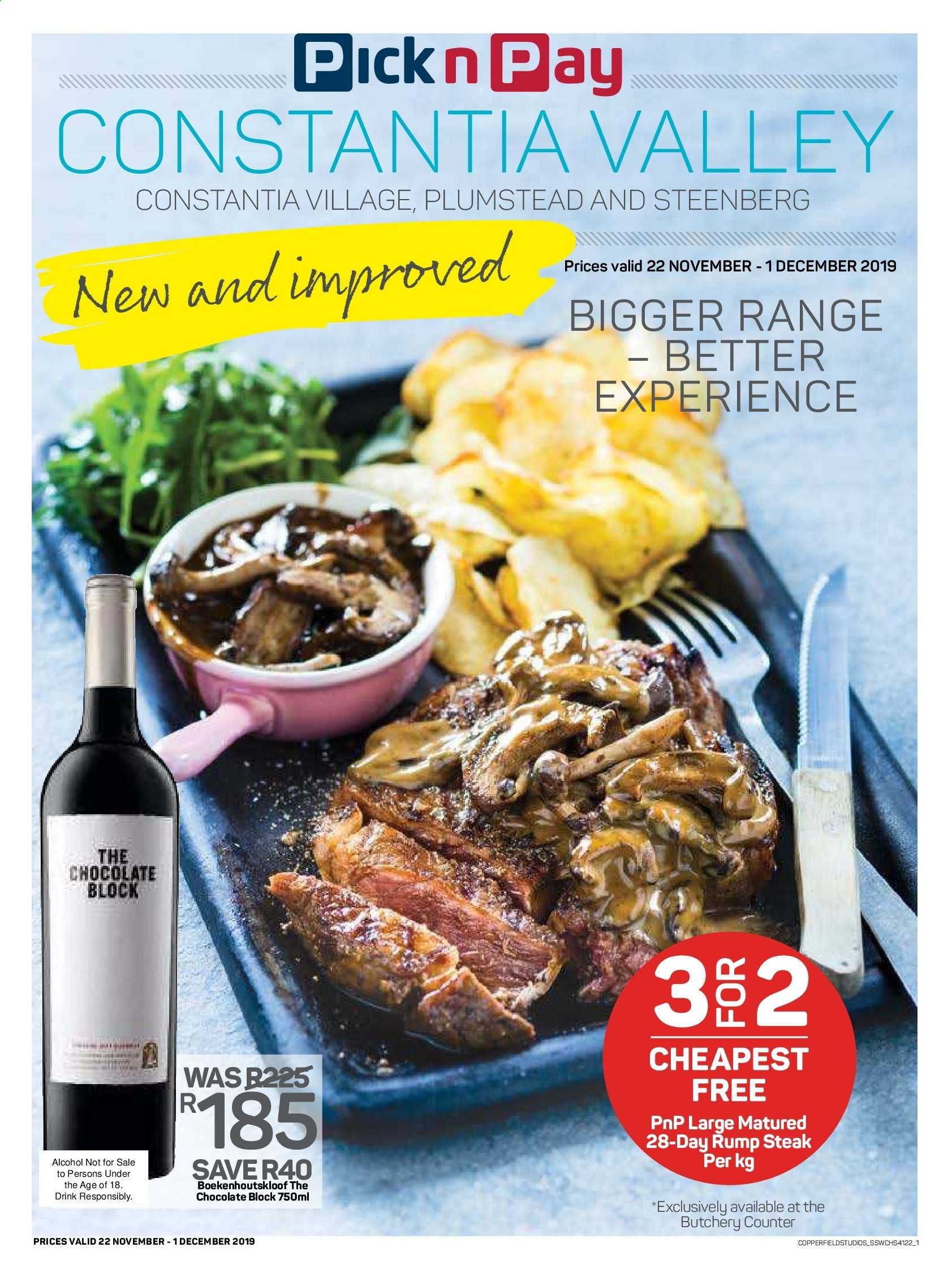 Pick n Pay catalogue  - 11.22.2019 - 12.01.2019. Page 1.