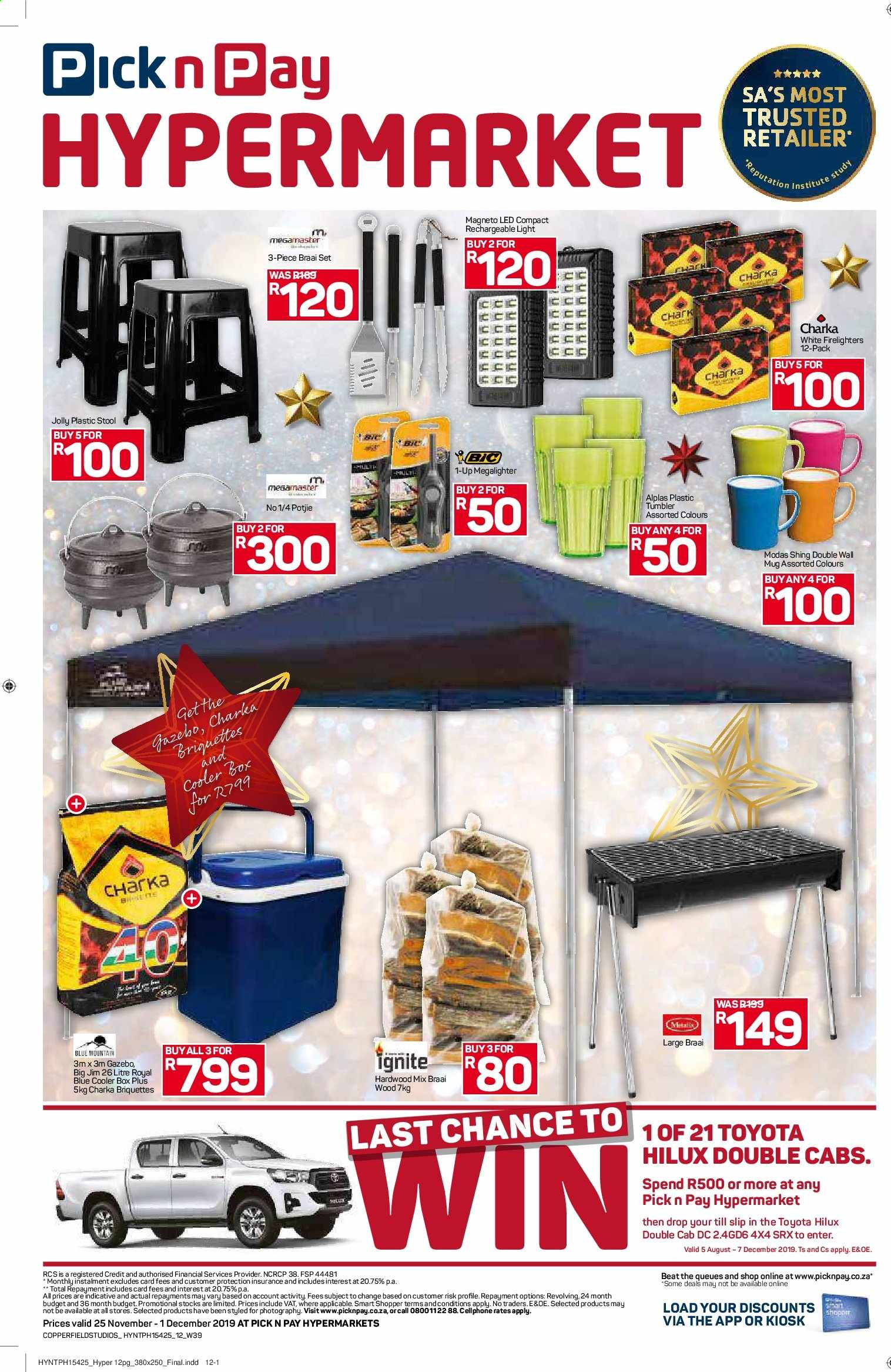 Pick n Pay catalogue  - 11.25.2019 - 12.01.2019. Page 12.