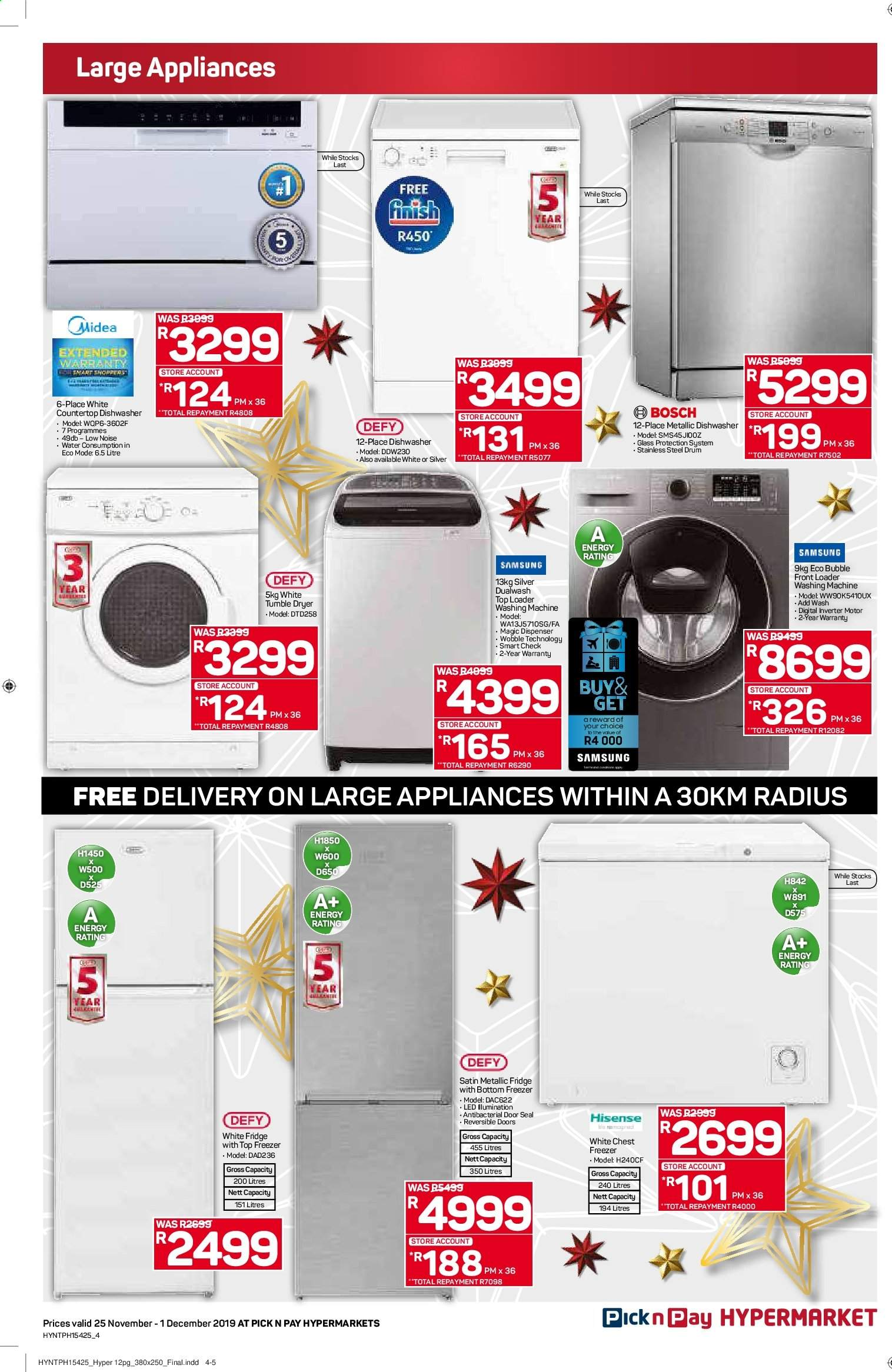 Pick n Pay catalogue  - 11.25.2019 - 12.01.2019. Page 4.