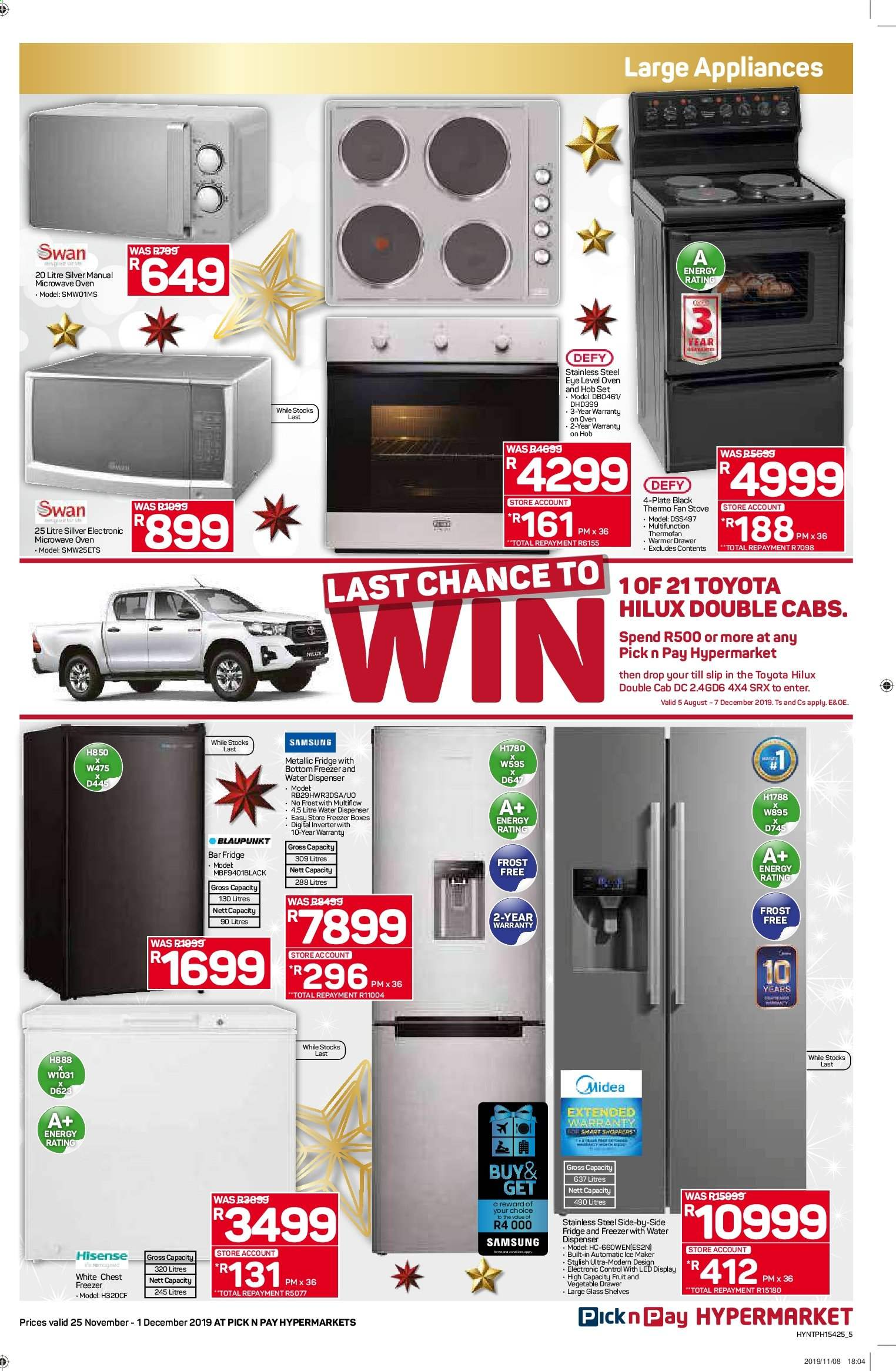 Pick n Pay catalogue  - 11.25.2019 - 12.01.2019. Page 5.