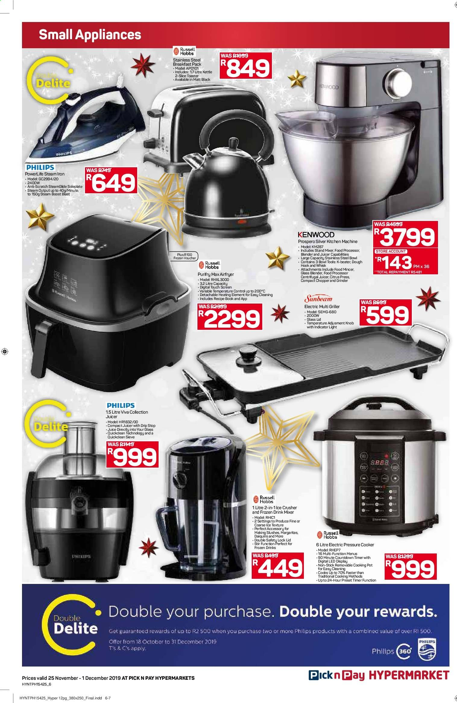Pick n Pay catalogue  - 11.25.2019 - 12.01.2019. Page 6.