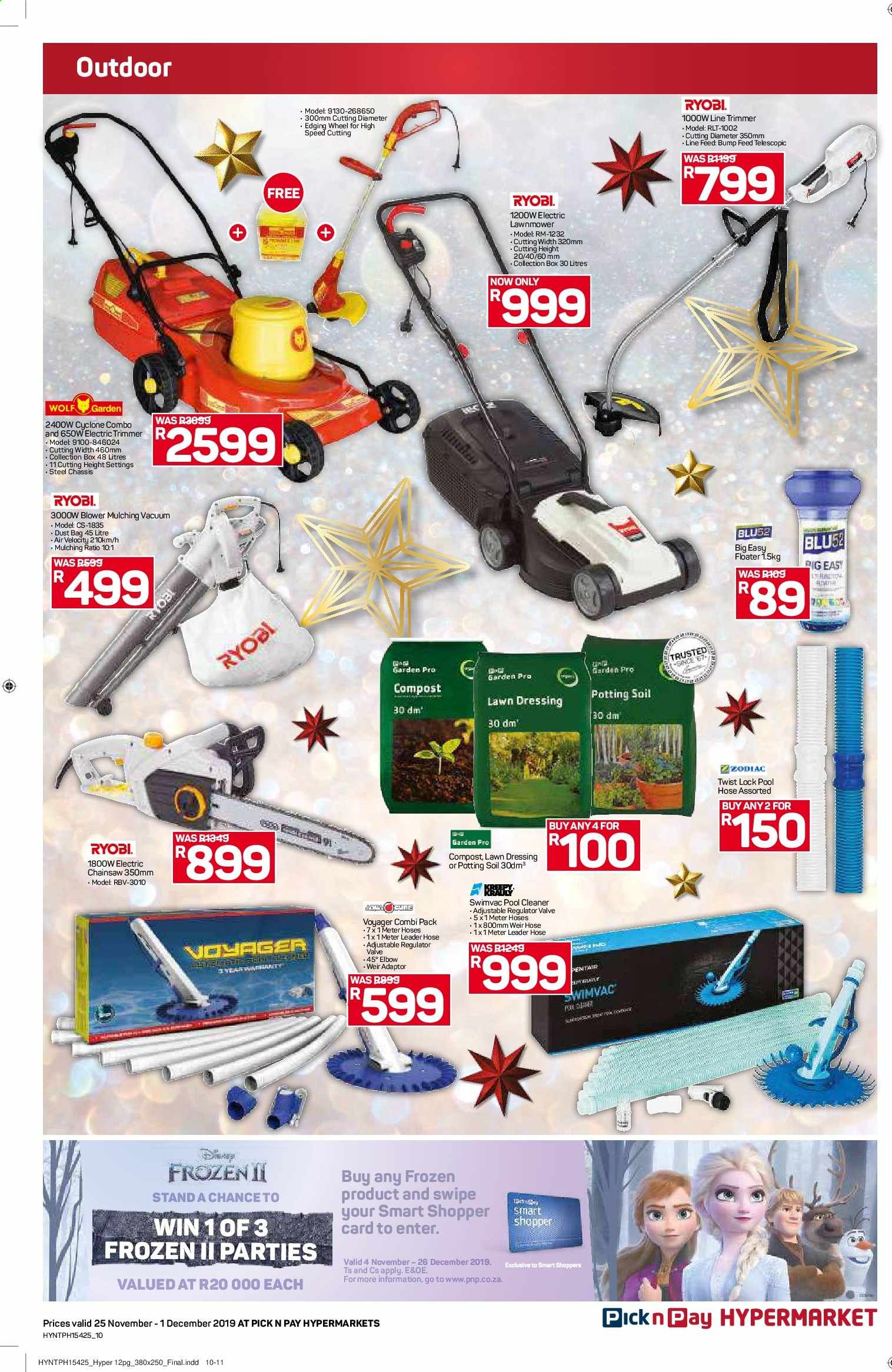 Pick n Pay catalogue  - 11.25.2019 - 12.01.2019. Page 10.