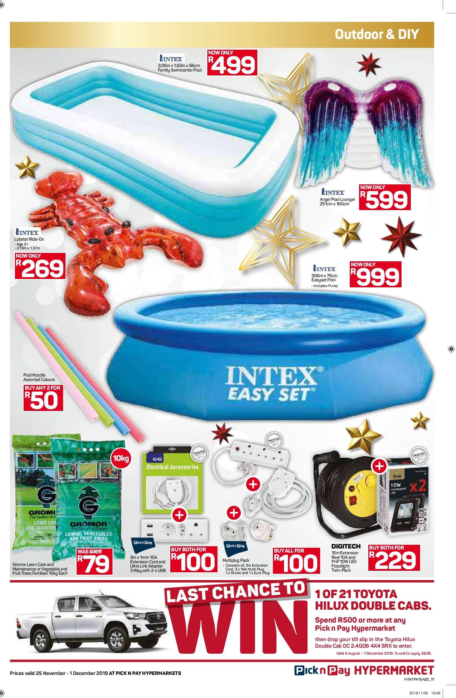 Pick n Pay catalogue  - 11.25.2019 - 12.01.2019. Page 11.