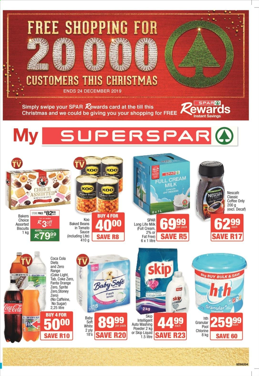 SPAR catalogue  - 11.25.2019 - 12.08.2019. Page 1.