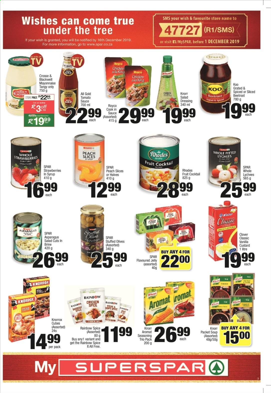 SPAR catalogue  - 11.25.2019 - 12.08.2019. Page 3.