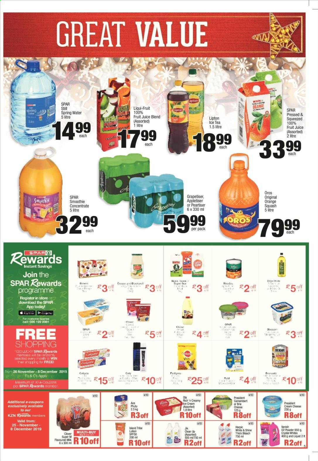 SPAR catalogue  - 11.25.2019 - 12.08.2019. Page 5.