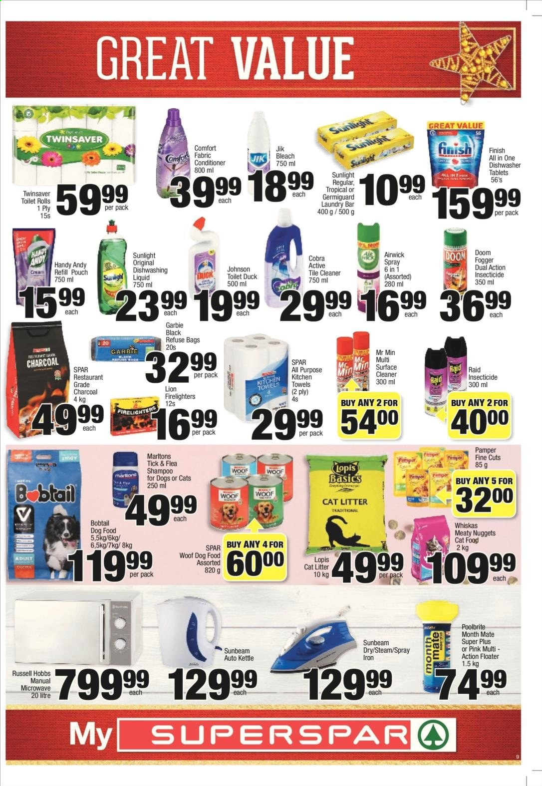 SPAR catalogue  - 11.25.2019 - 12.08.2019. Page 9.