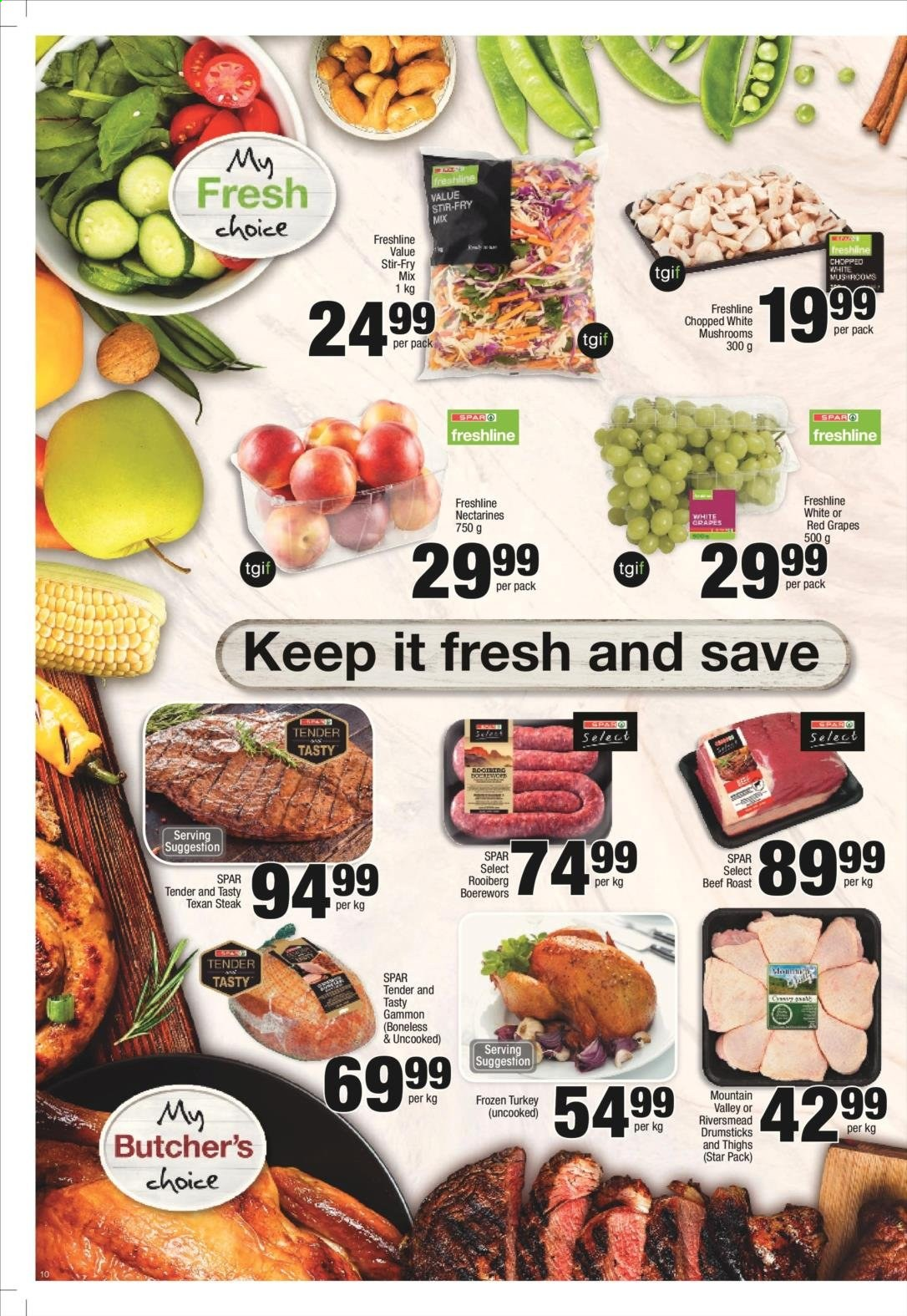 SPAR catalogue  - 11.25.2019 - 12.08.2019. Page 10.