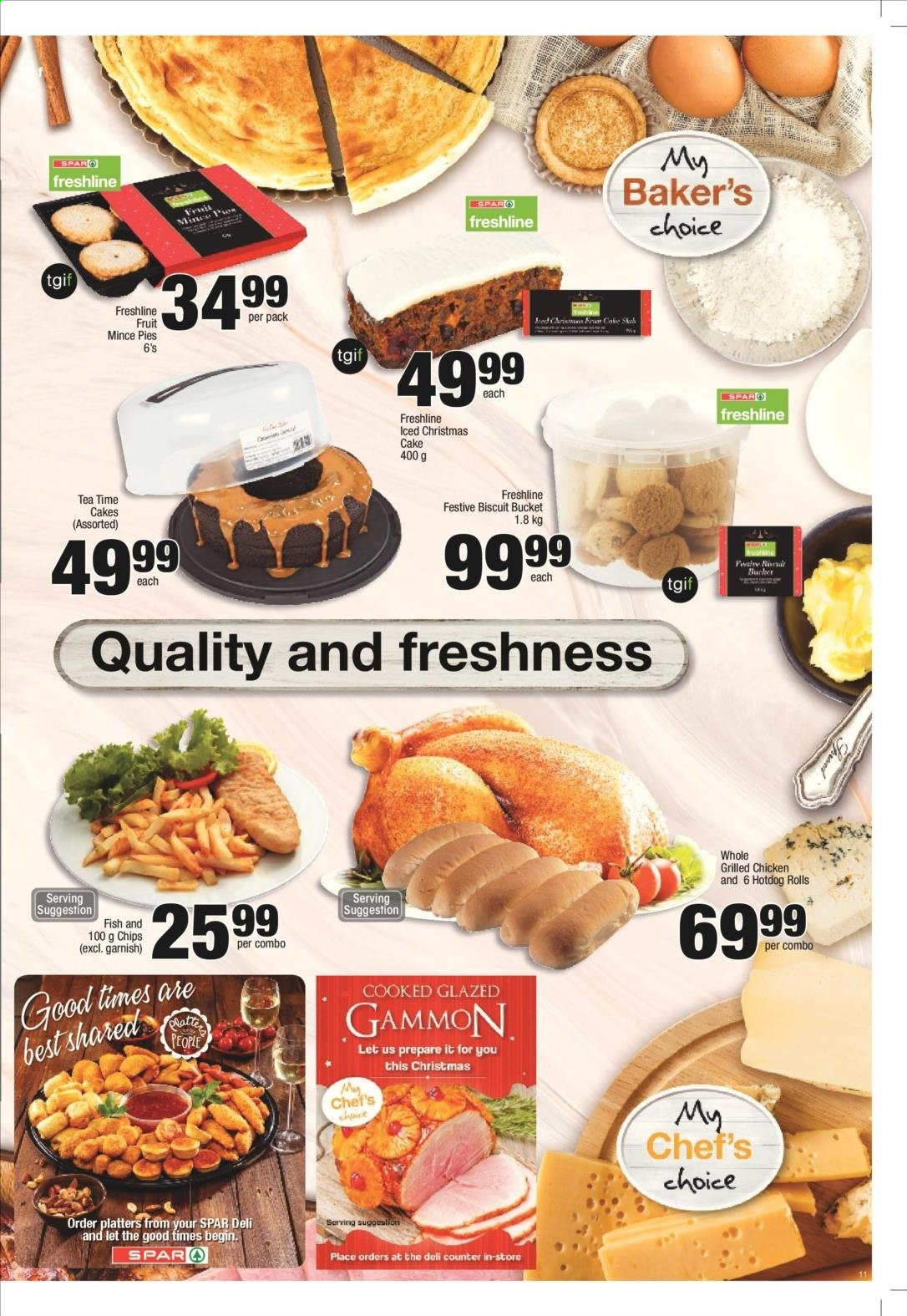 SPAR catalogue  - 11.25.2019 - 12.08.2019. Page 11.