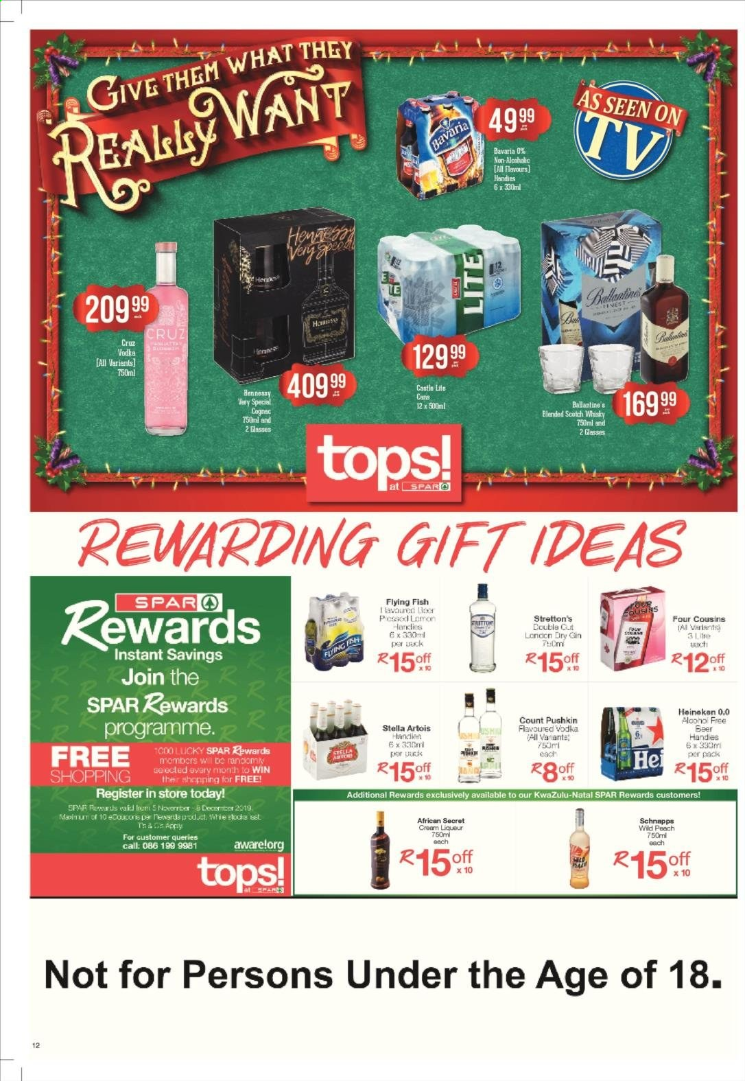 SPAR catalogue  - 11.25.2019 - 12.08.2019. Page 12.