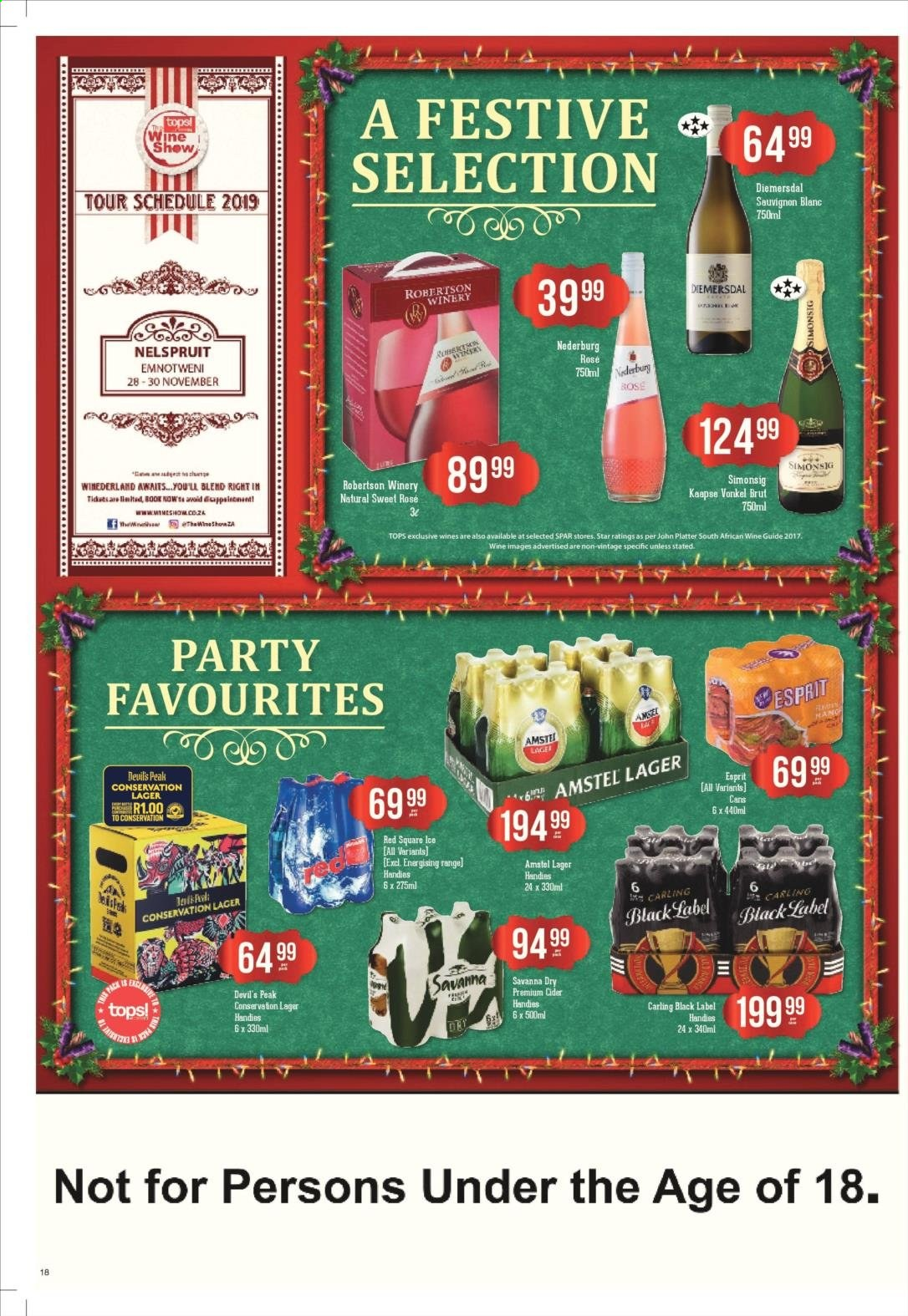 SPAR catalogue  - 11.25.2019 - 12.08.2019. Page 18.