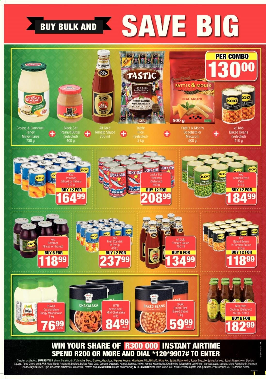 SPAR catalogue  - 11.25.2019 - 12.17.2019. Page 4.