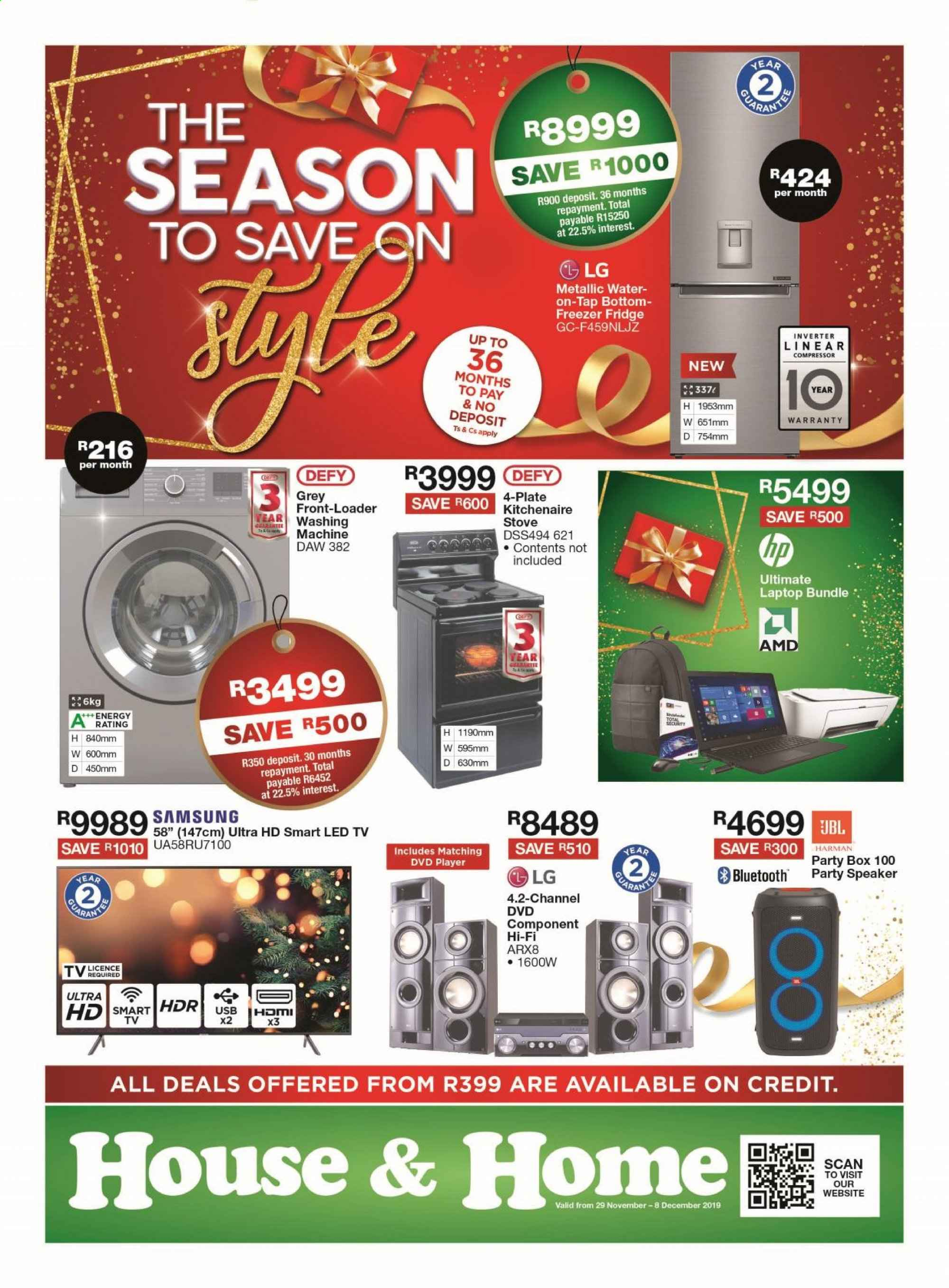 House & Home catalogue  - 11.29.2019 - 12.08.2019. Page 1.