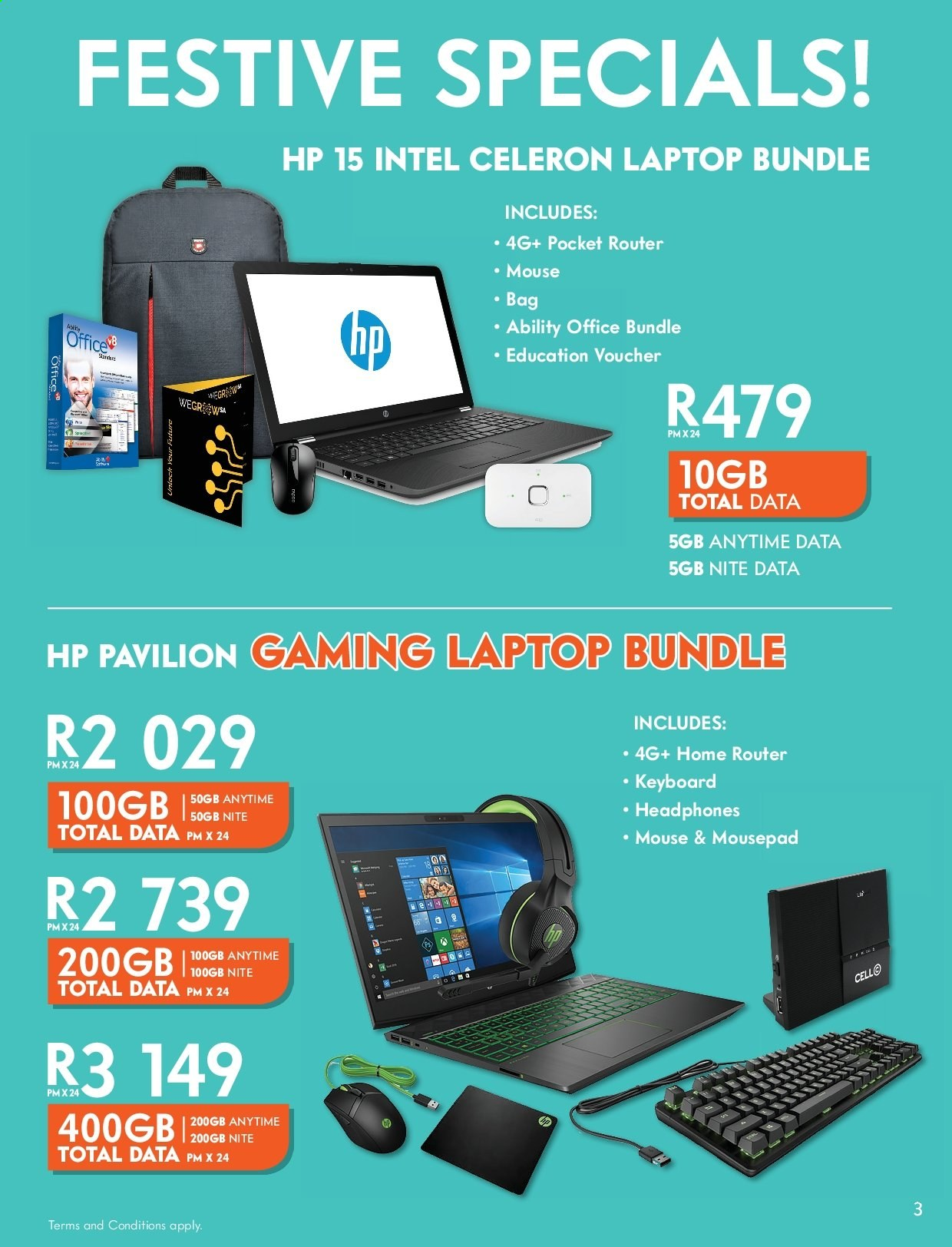 Cell C catalogue  - 12.01.2019 - 01.26.2020. Page 3.