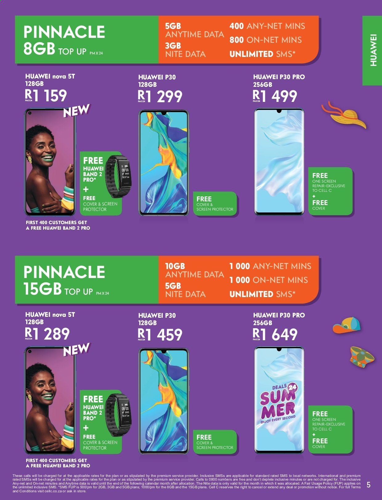Cell C catalogue  - 12.01.2019 - 01.26.2020. Page 5.