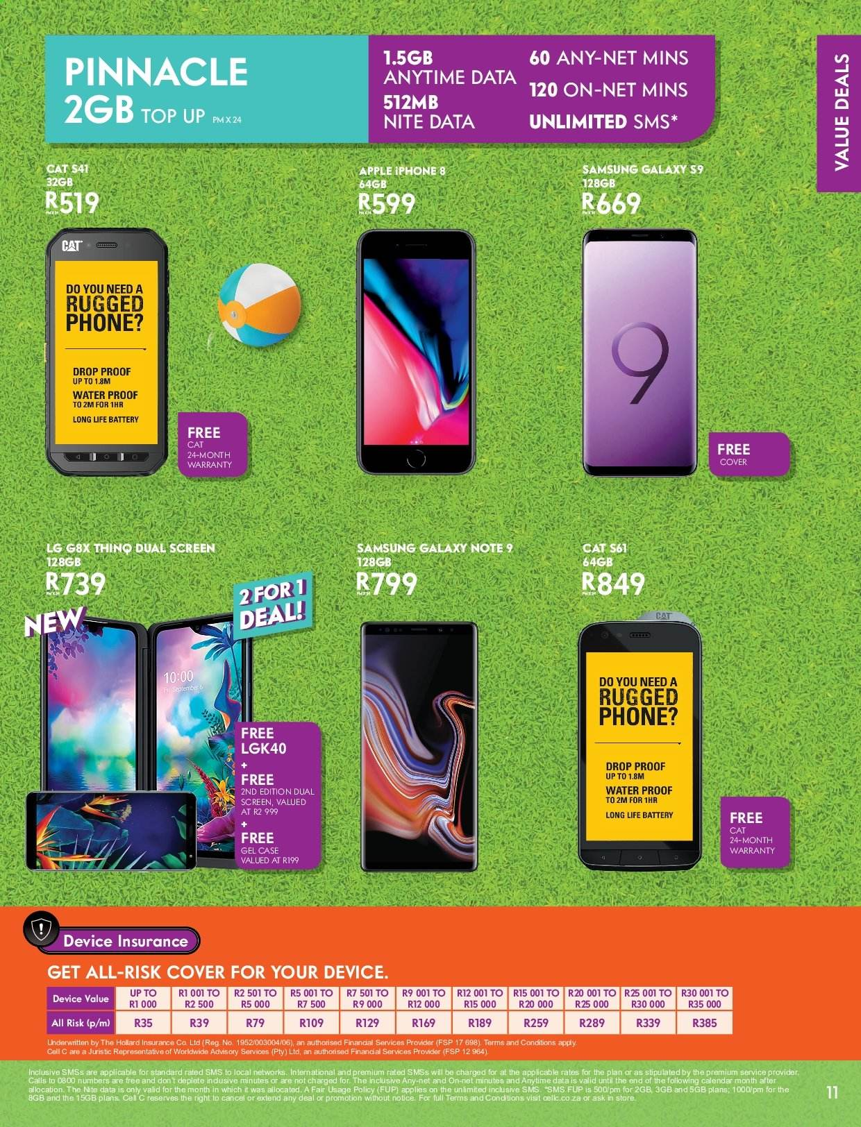 Cell C catalogue  - 12.01.2019 - 01.26.2020. Page 11.