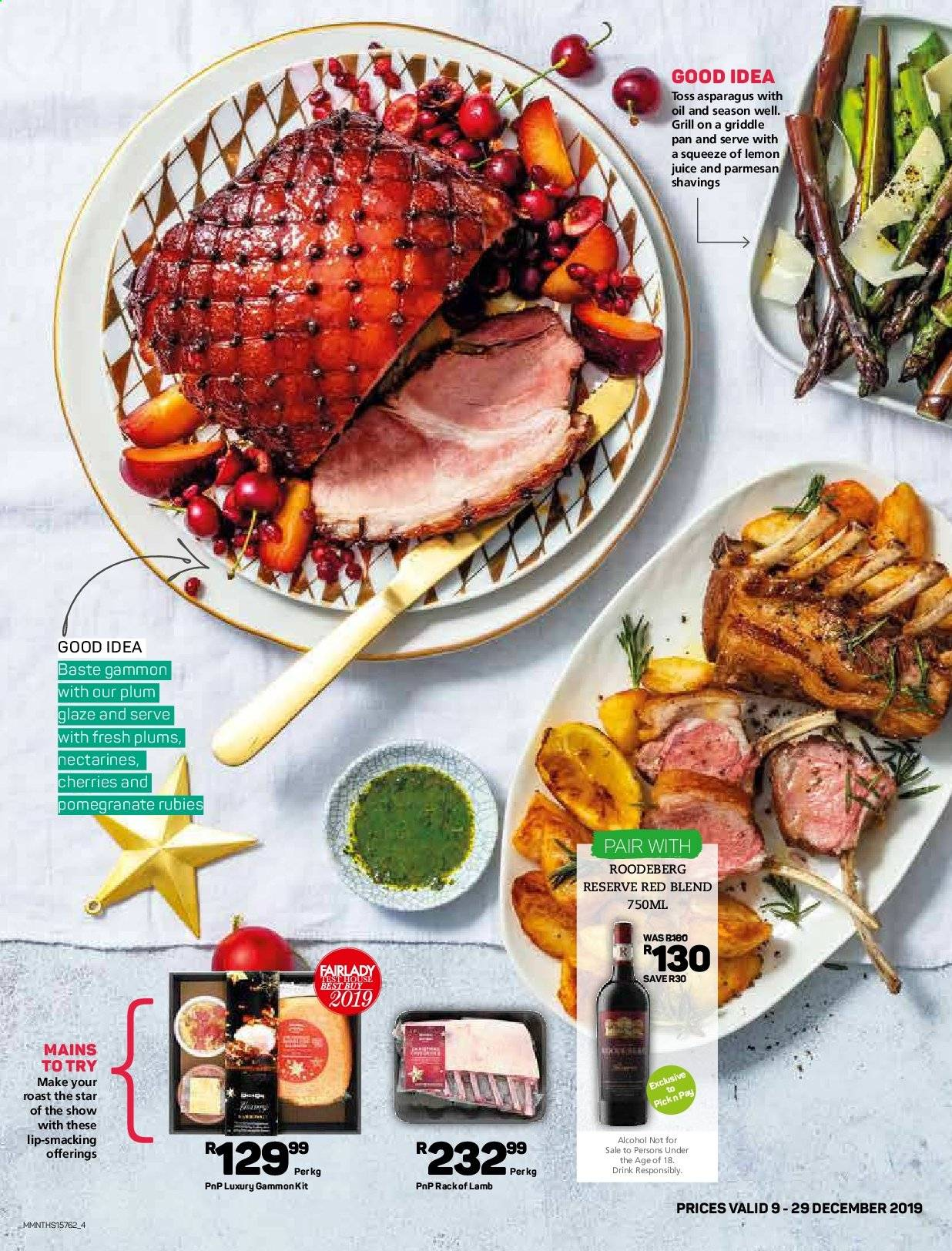 Pick n Pay catalogue  - 12.09.2019 - 12.29.2019. Page 4.
