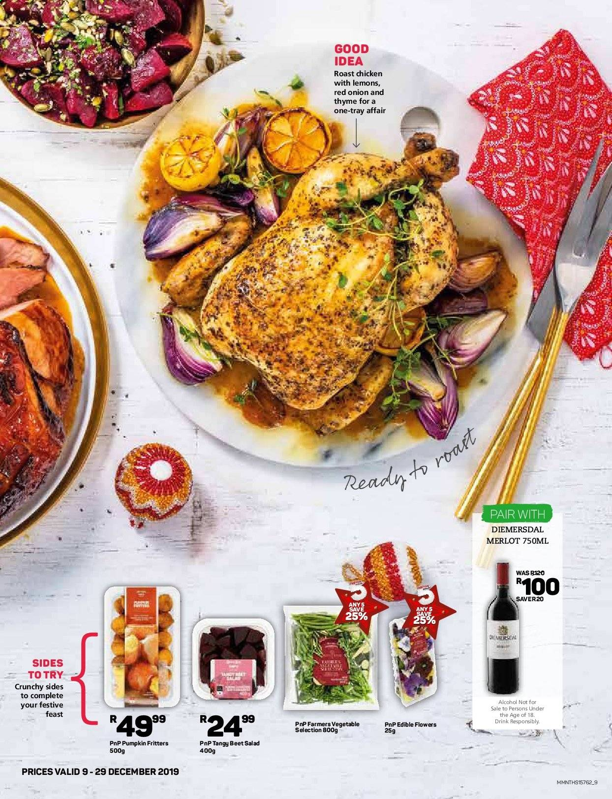 Pick n Pay catalogue  - 12.09.2019 - 12.29.2019. Page 9.