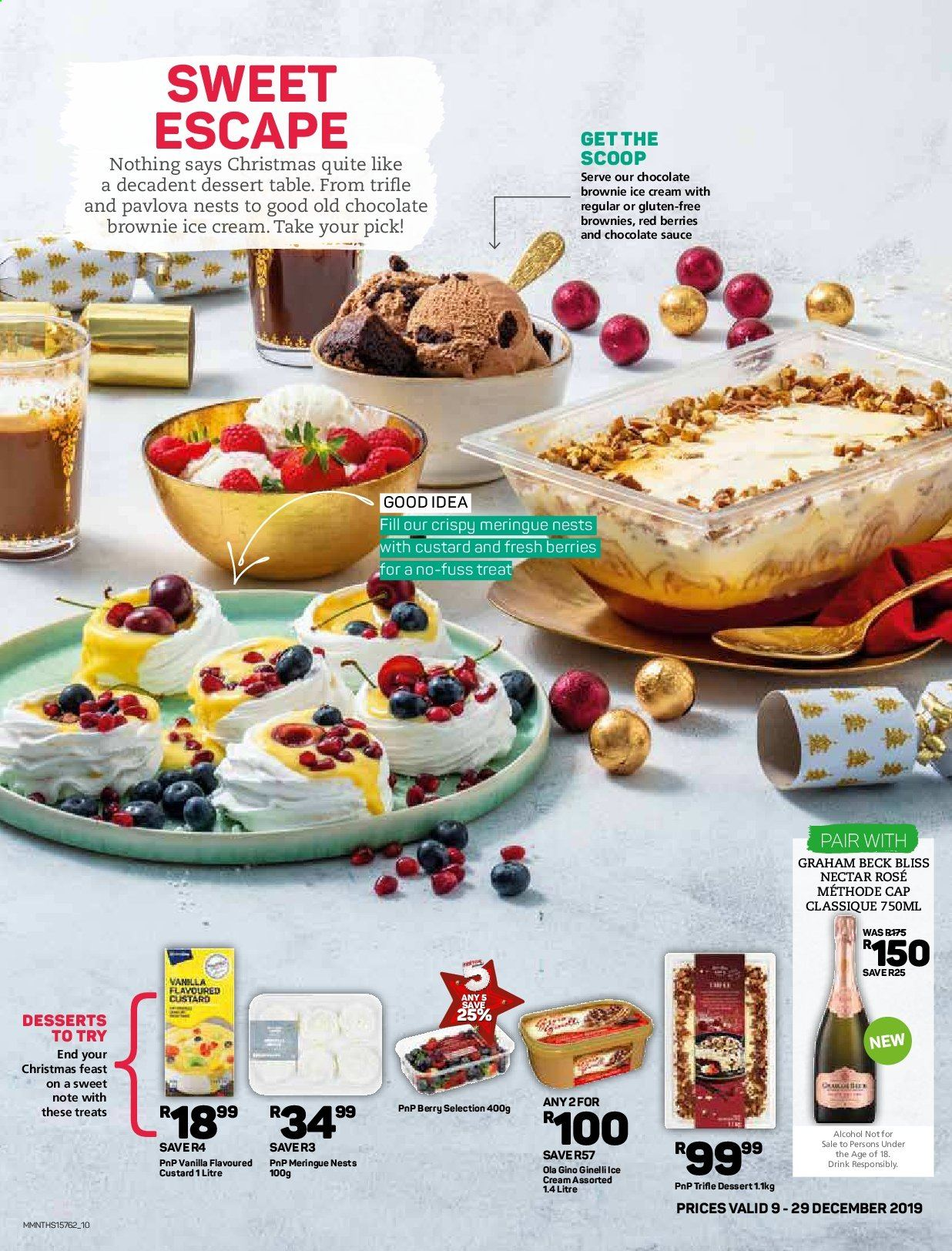 Pick n Pay catalogue  - 12.09.2019 - 12.29.2019. Page 10.