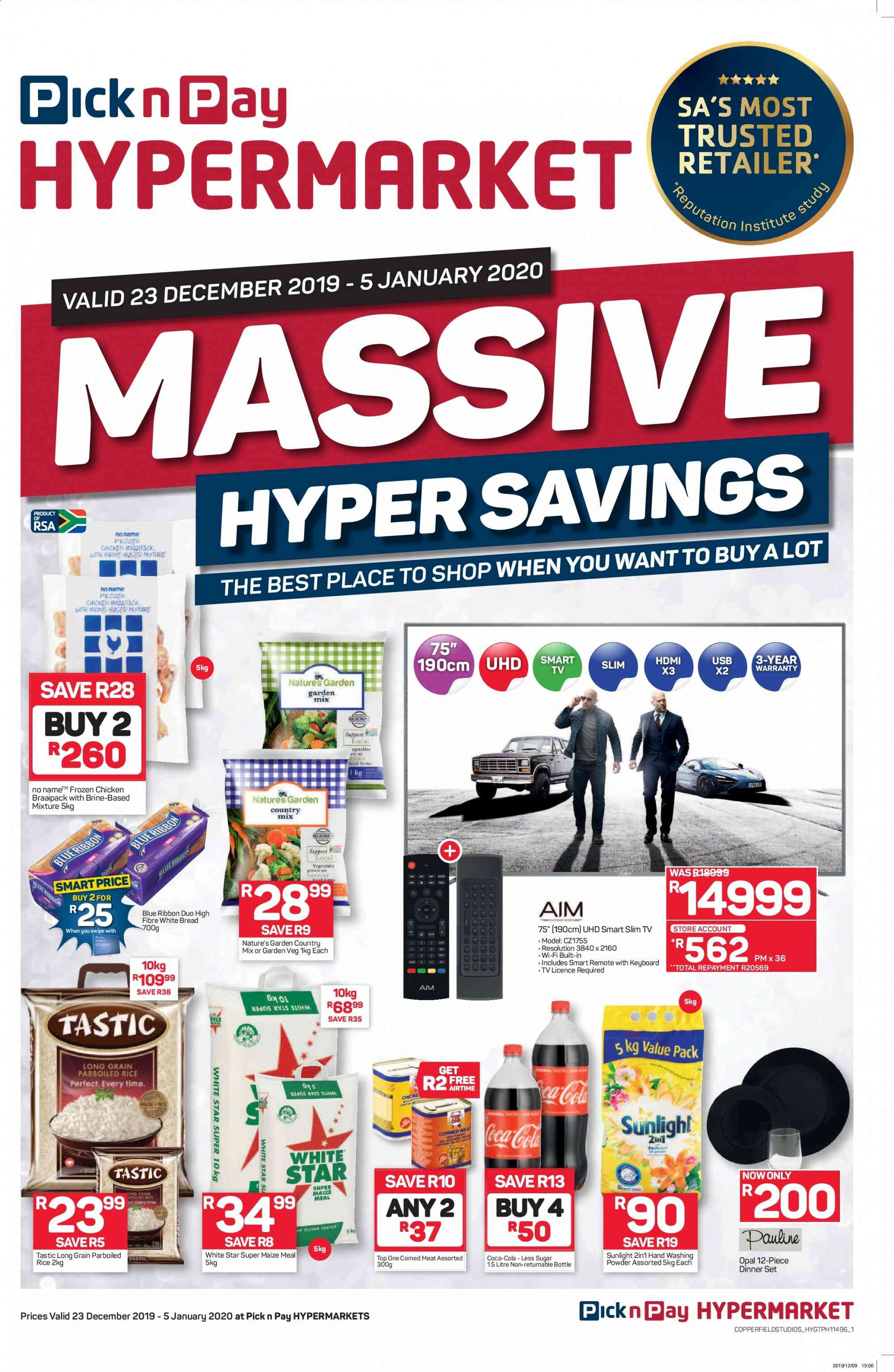 Pick n Pay catalogue  - 12.23.2019 - 01.05.2020. Page 1.