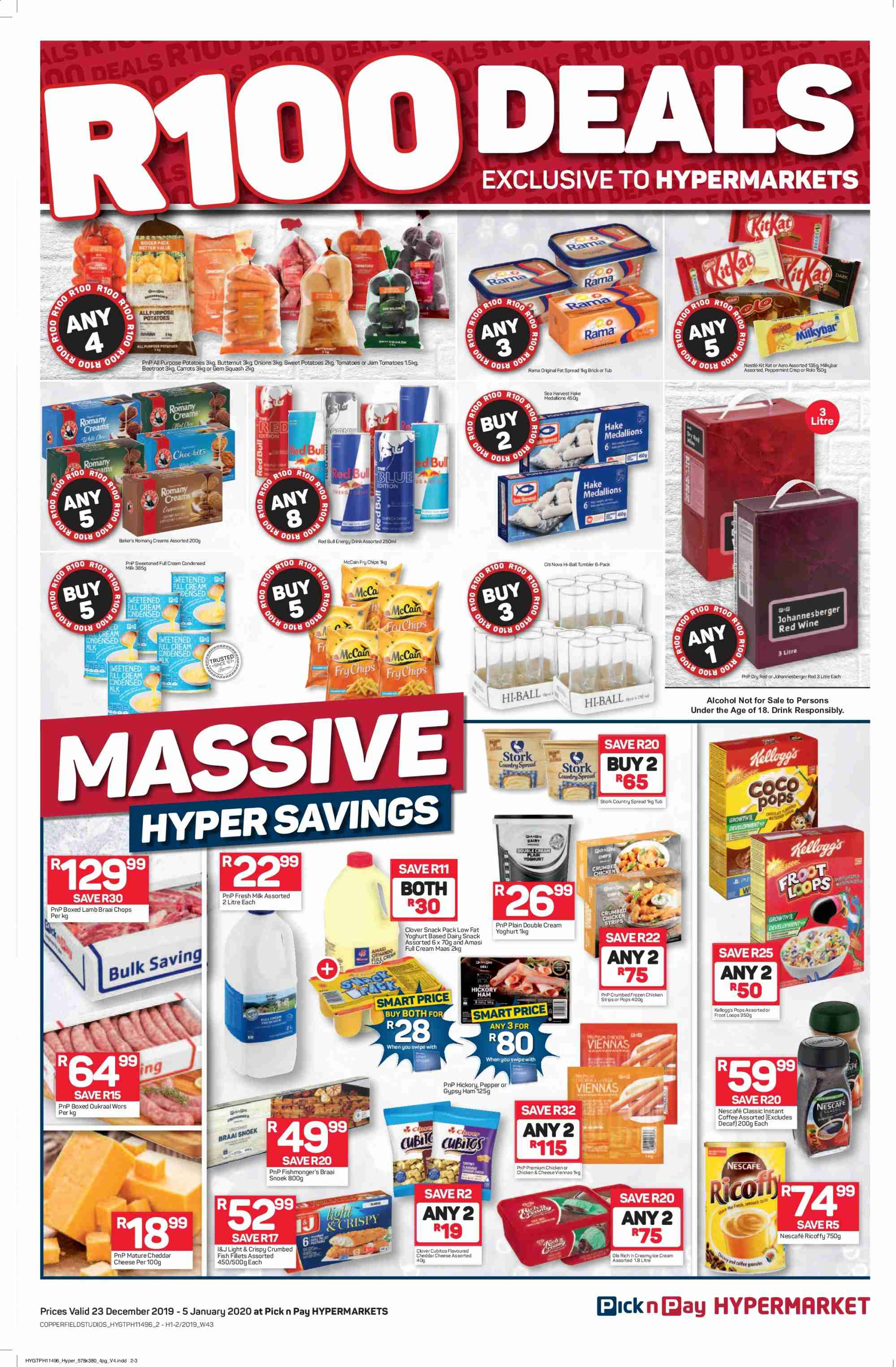 Pick n Pay catalogue  - 12.23.2019 - 01.05.2020. Page 2.