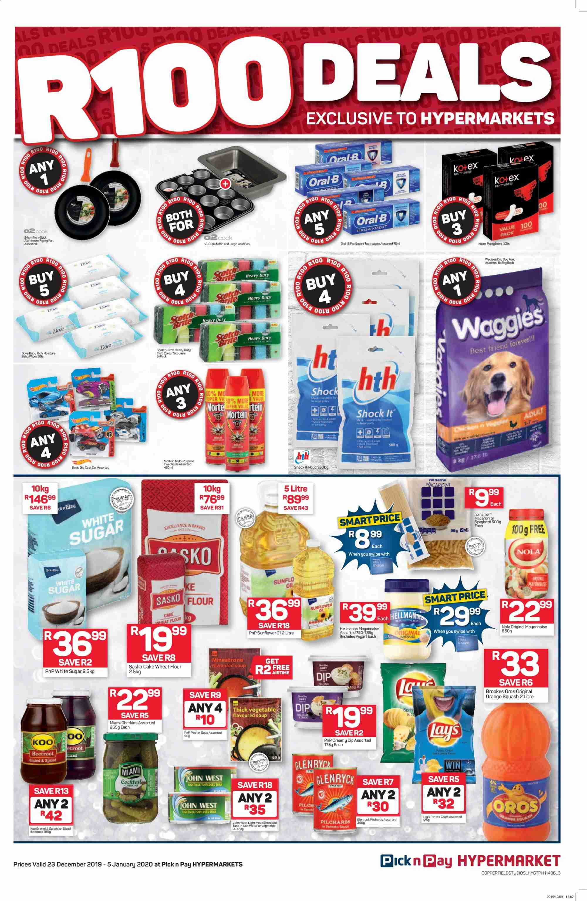 Pick n Pay catalogue  - 12.23.2019 - 01.05.2020. Page 3.