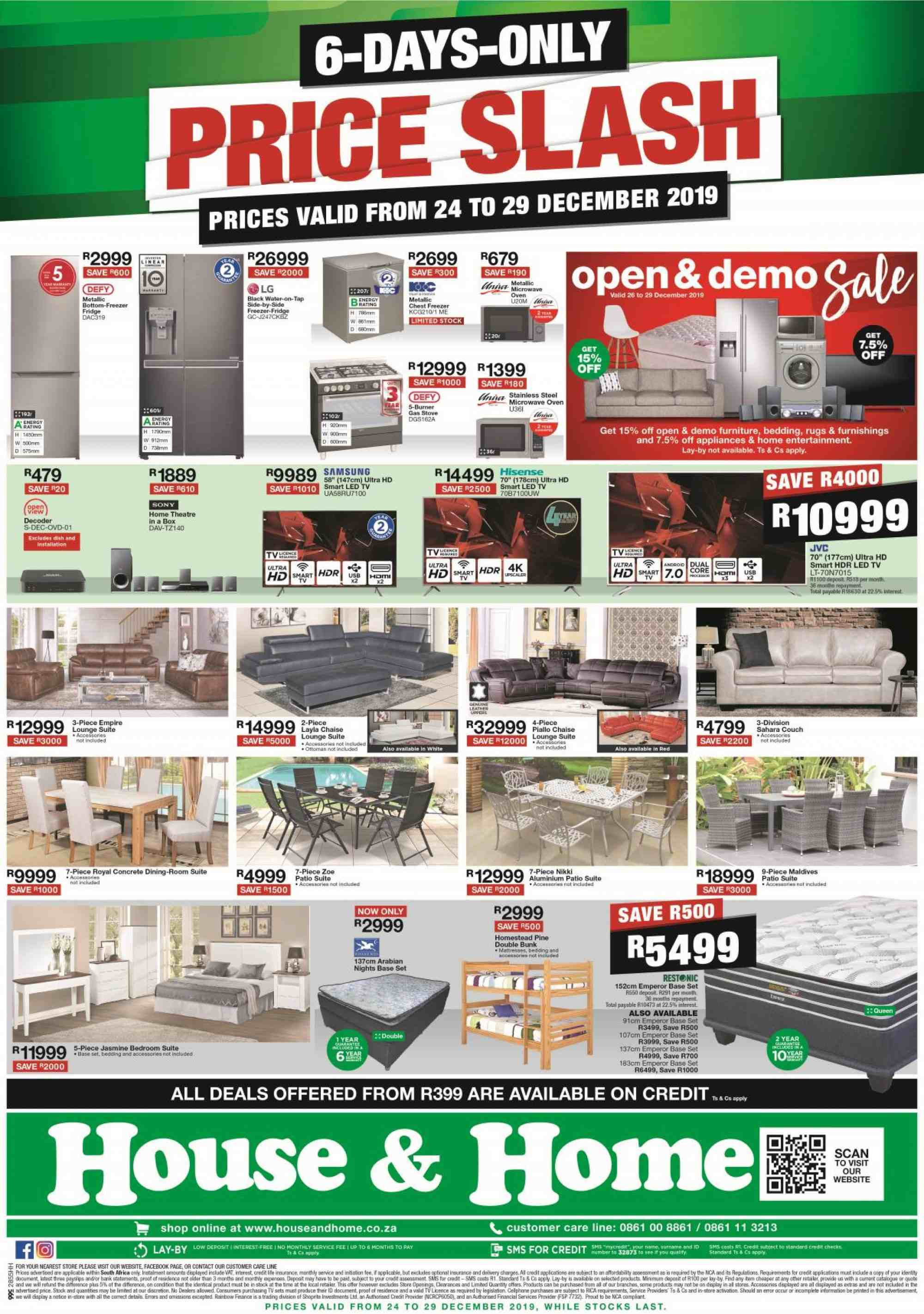 House & Home catalogue  - 12.24.2019 - 12.29.2019. Page 1.
