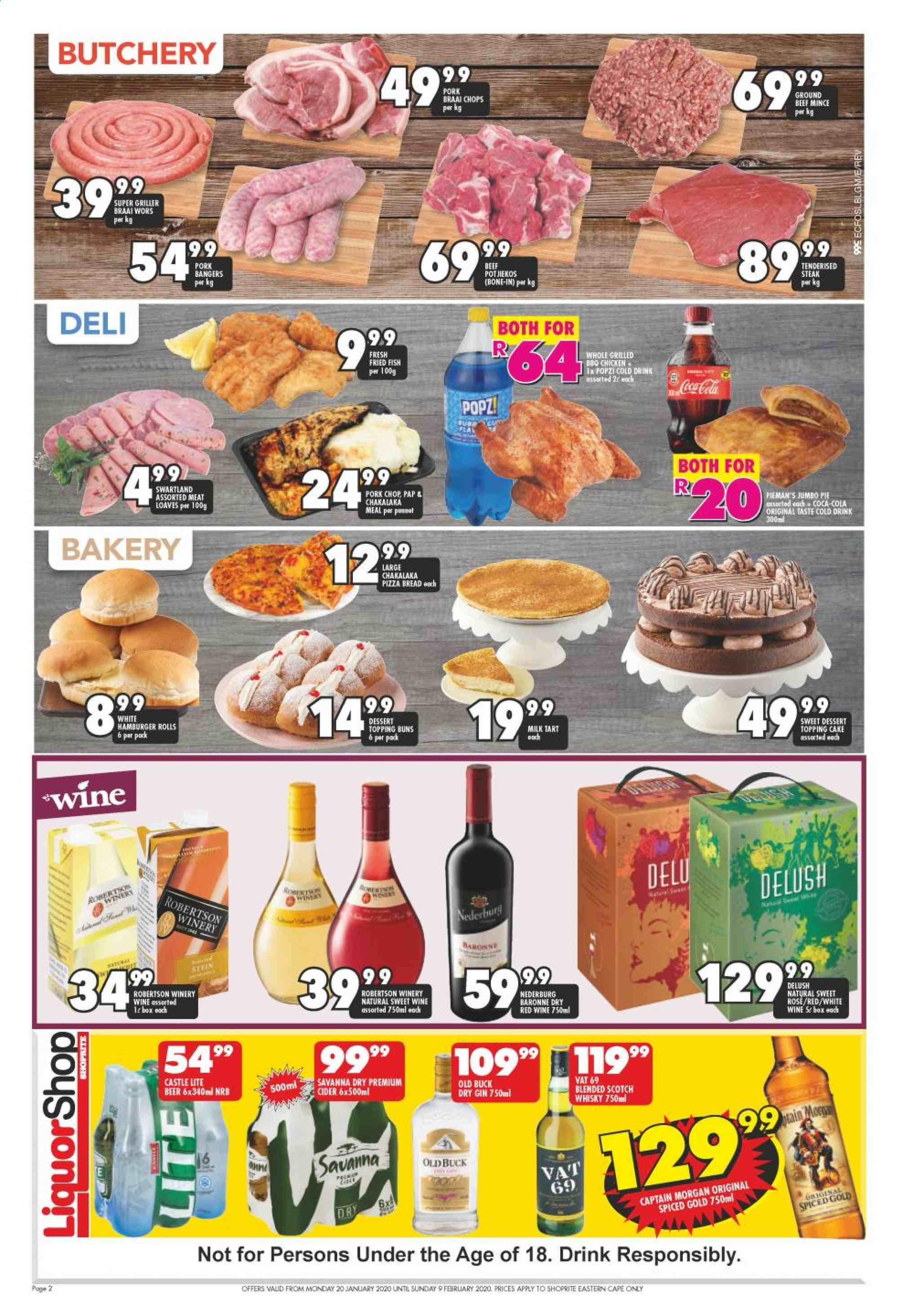 Shoprite catalogue  - 01.20.2020 - 02.09.2020. Page 2.