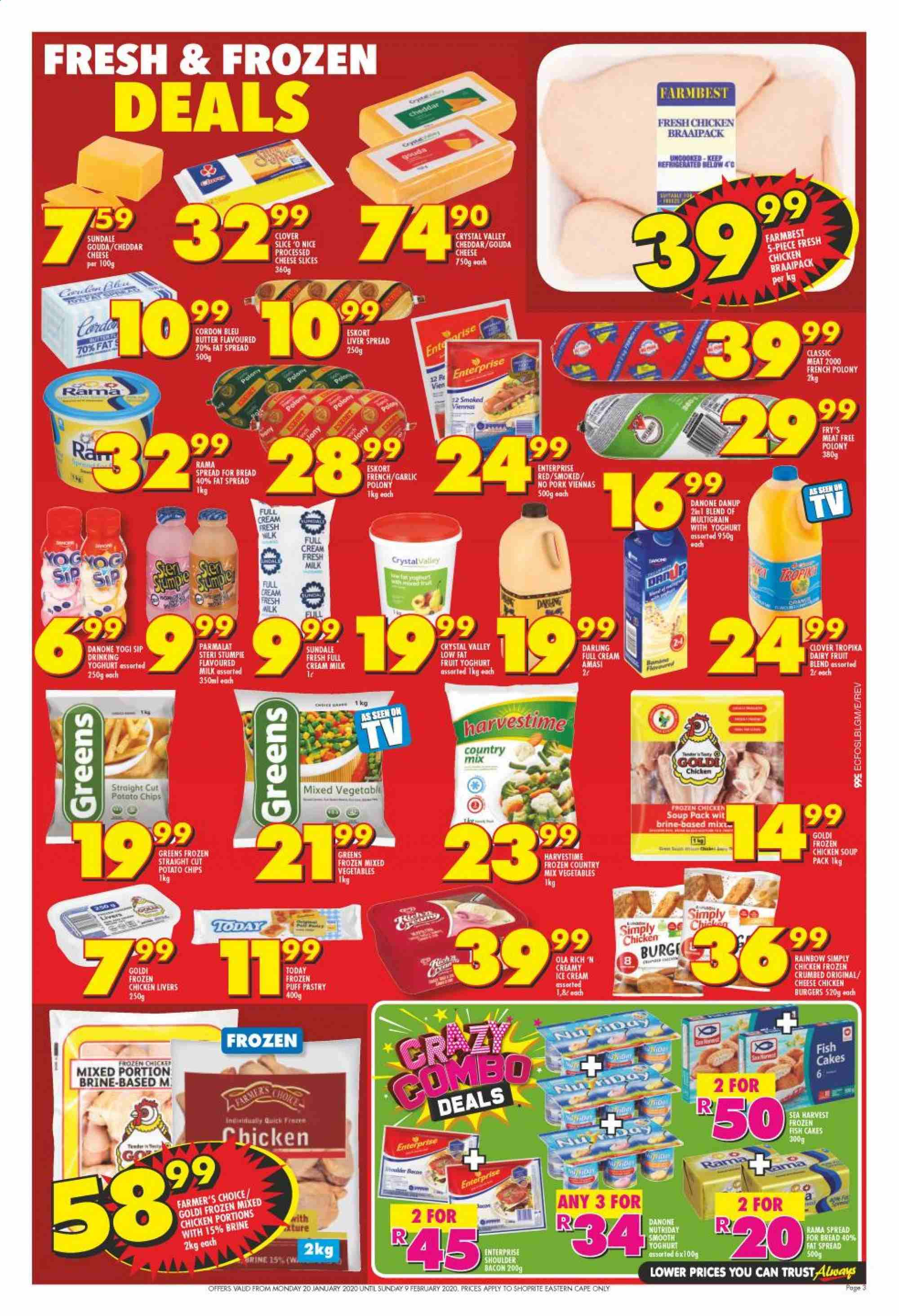 Shoprite catalogue  - 01.20.2020 - 02.09.2020. Page 3.