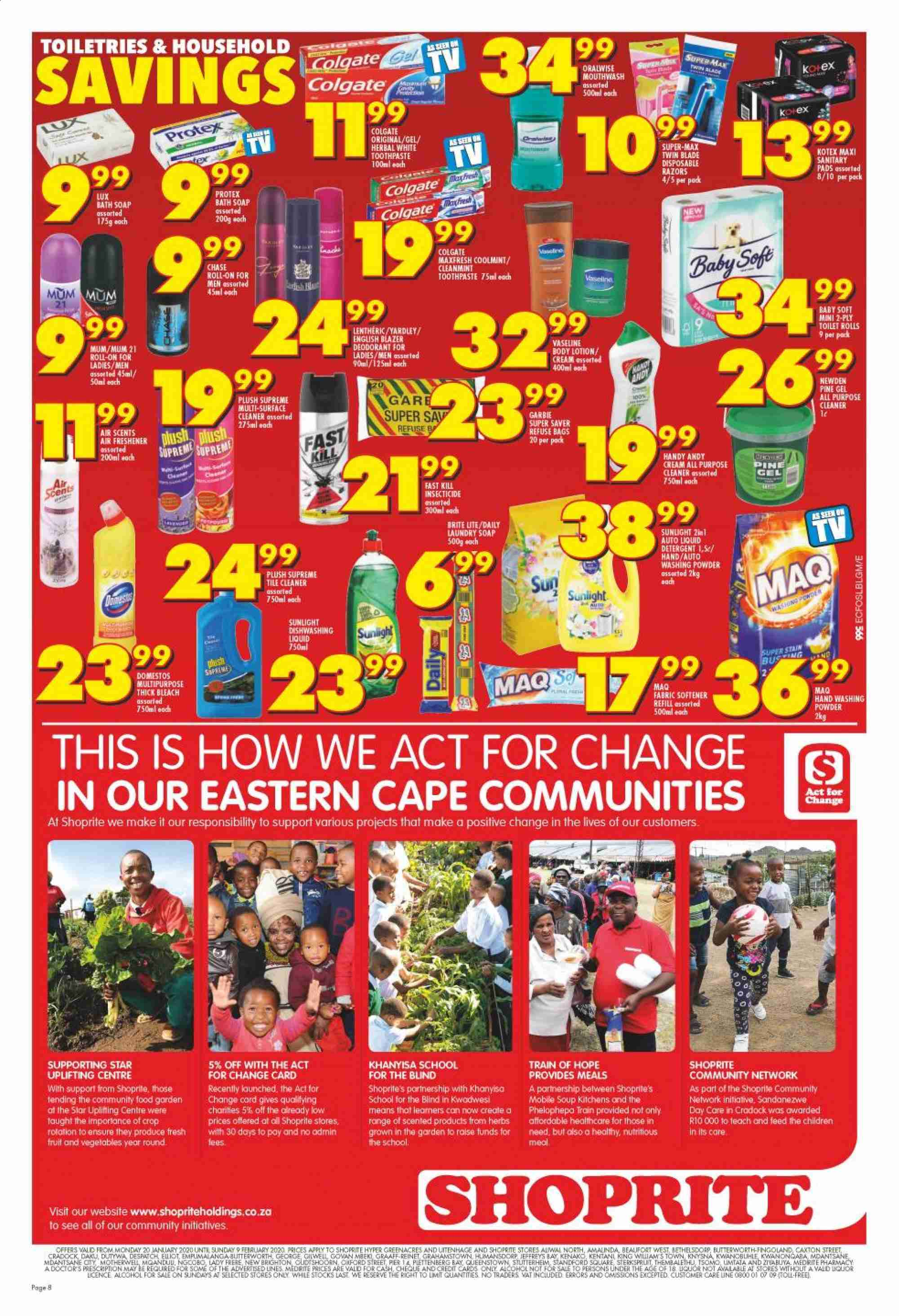 Shoprite catalogue  - 01.20.2020 - 02.09.2020. Page 7.