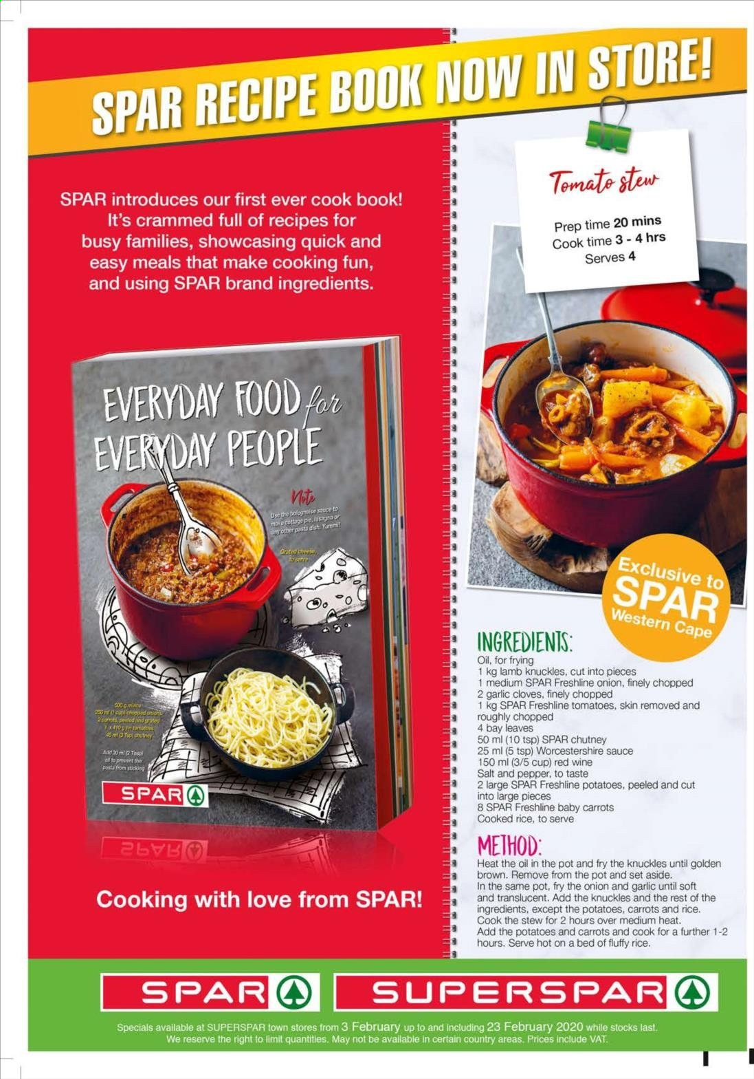 SPAR catalogue  - 02.03.2020 - 02.23.2020. Page 4.