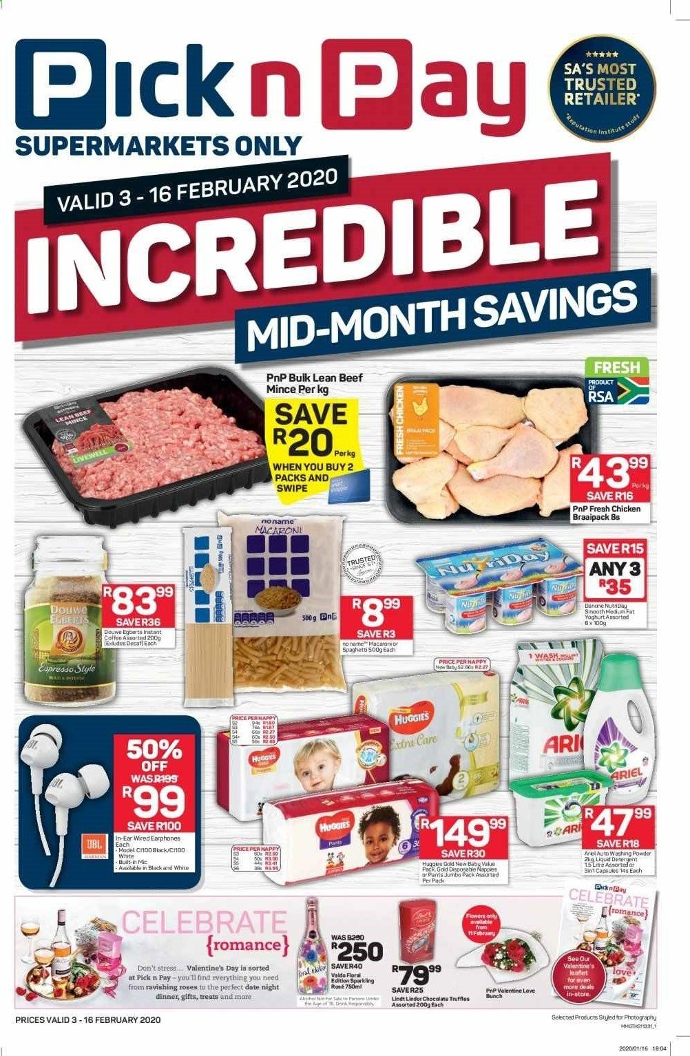 Pick n Pay catalogue  - 02.03.2020 - 02.16.2020. Page 1.